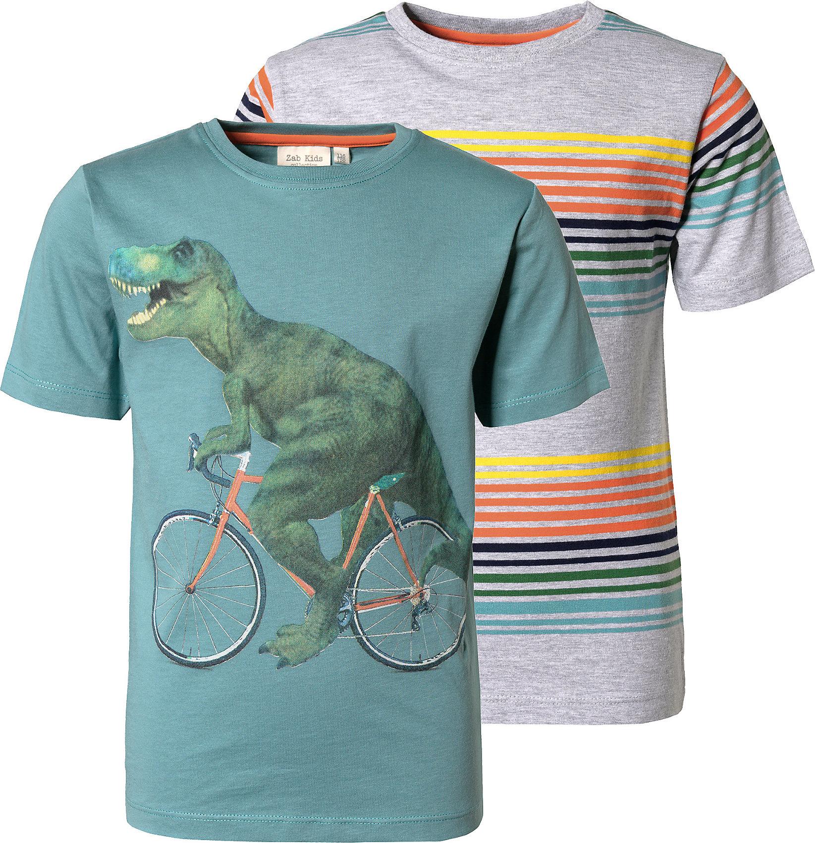 Neu myToys-COLLECTION T-Shirts Doppelpack für Jungen von ZAB kids 10034284