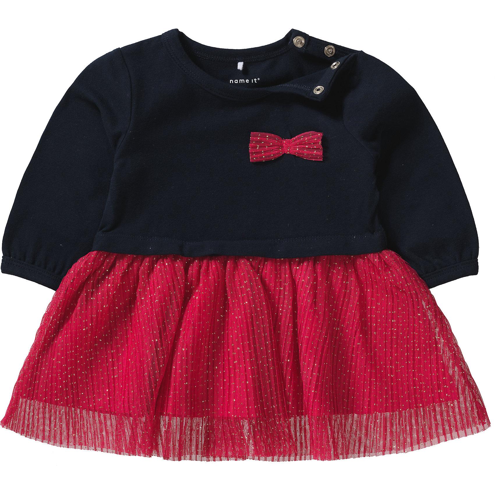 Organic Cotton 9450938 für Mädchen Neu name it Baby Jerseykleid NBFREGITZE