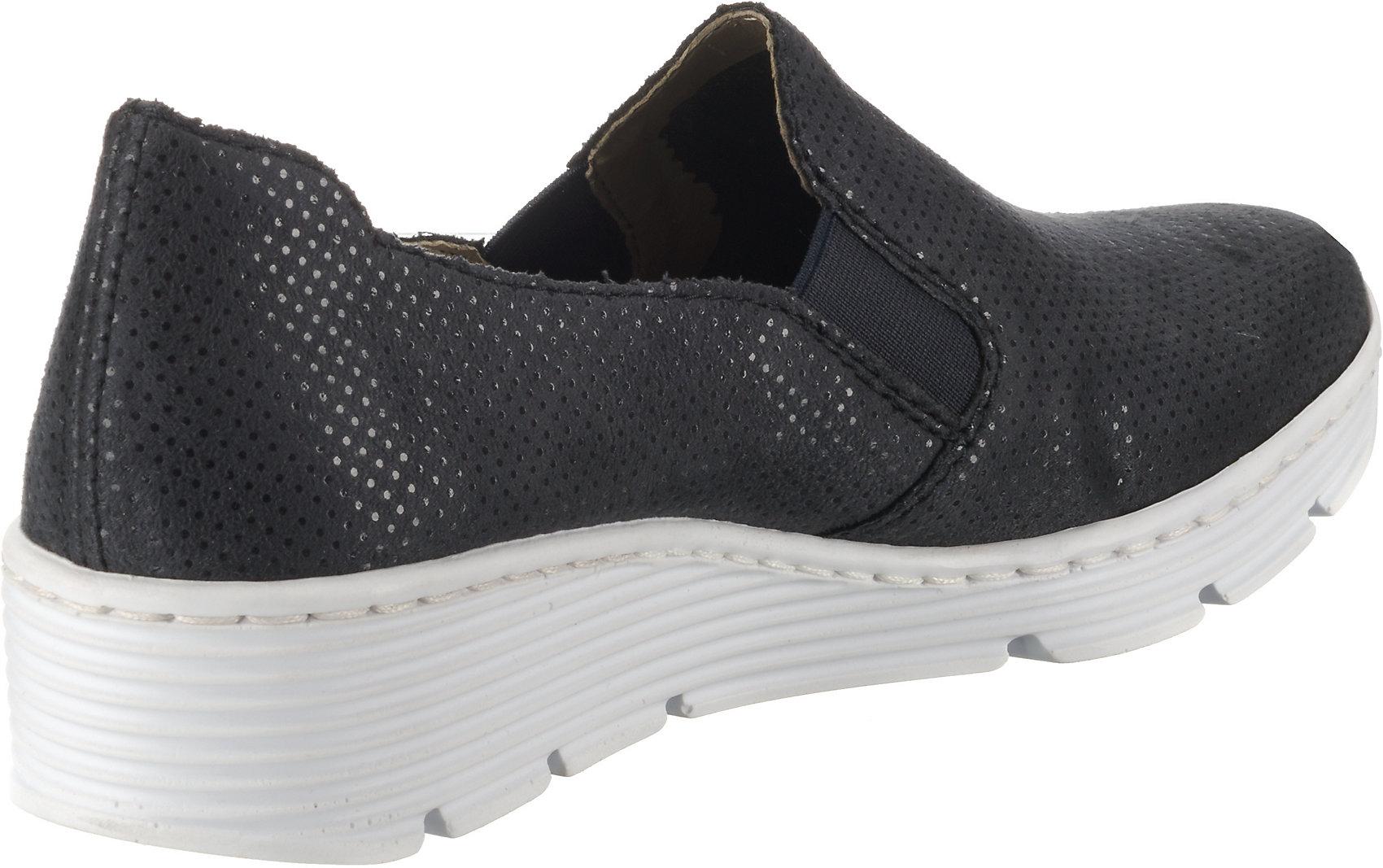 Neu rieker Komfort-Slipper 10130306 für Damen blau