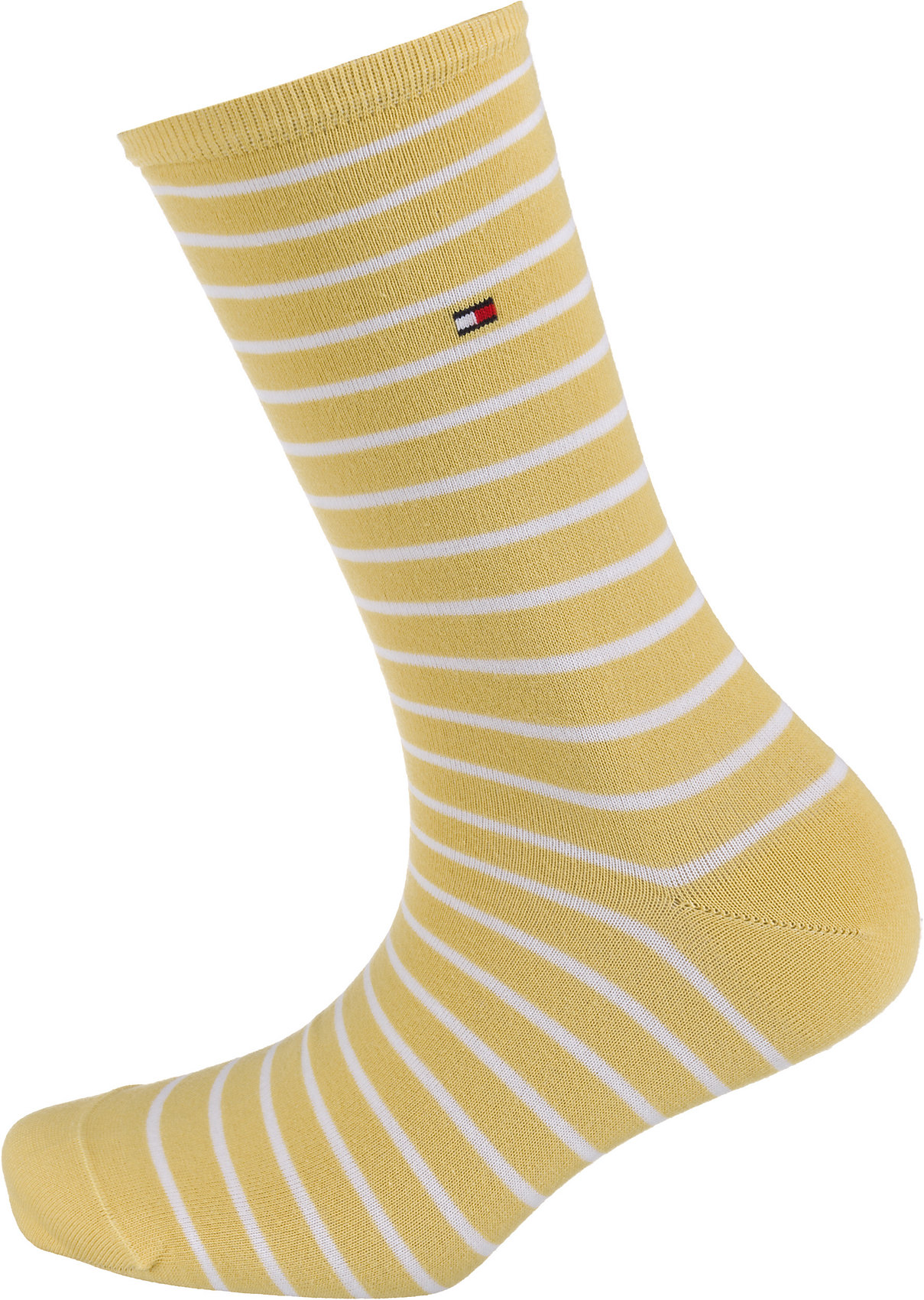 Neu TOMMY HILFIGER 2 Paar Socken 8488046 für Damen blau//rot gelb-kombi