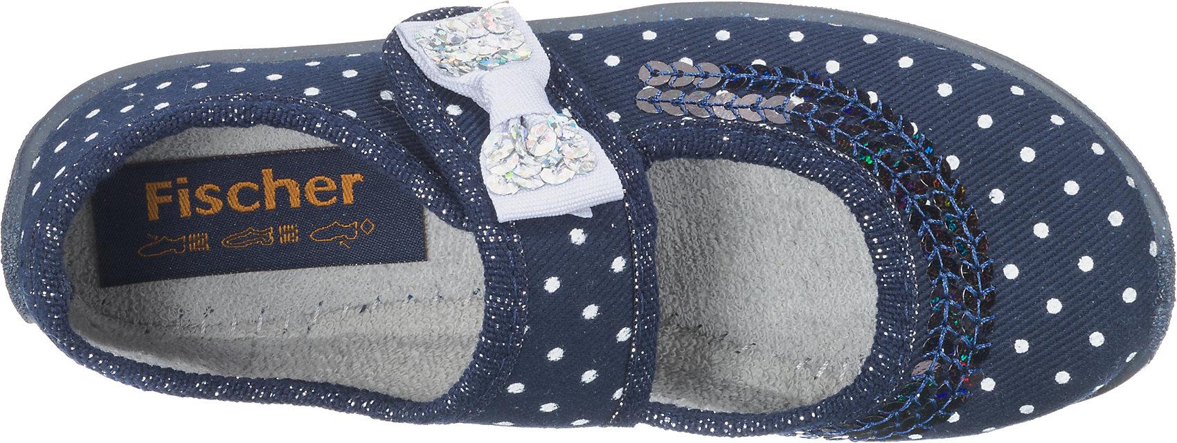 Schleife 10264318 für Mädchen Neu Fischer-Markenschuh Hausschuhe für Mädchen