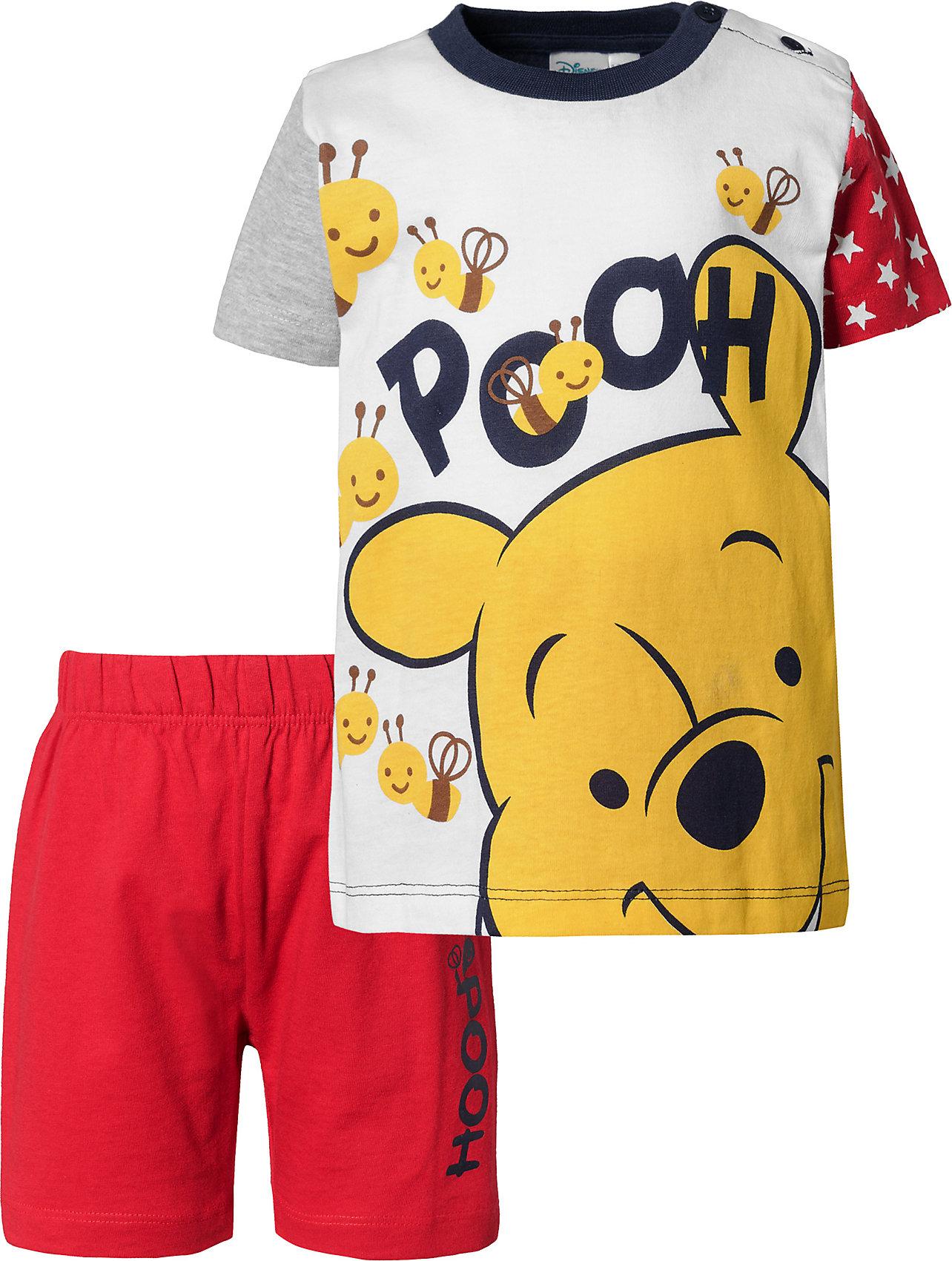 Shorts für Jungen 10397197 für Jungen Neu Disney Winnie Puuh Baby Set T-Shirt