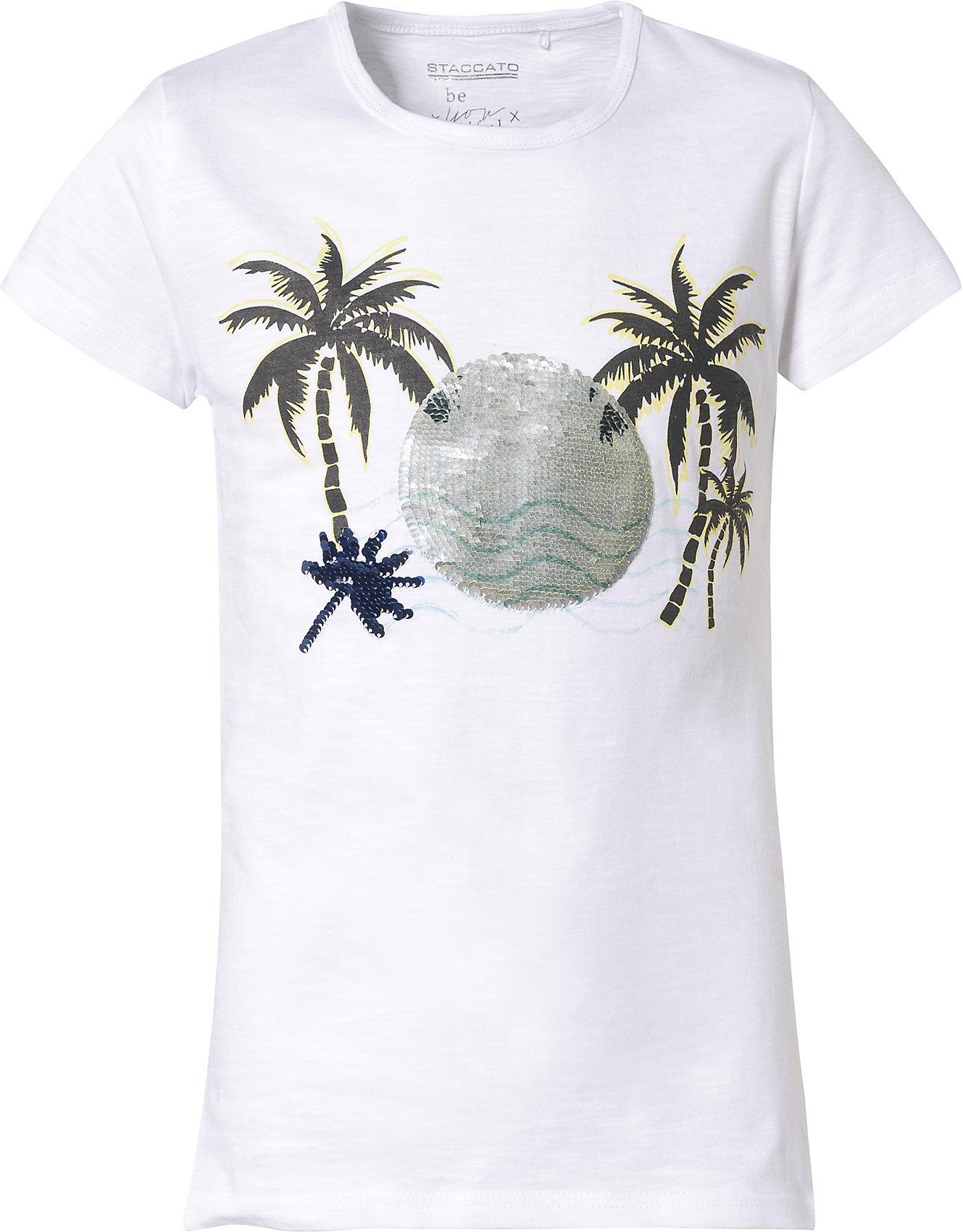 Neu STACCATO T-Shirt für Mädchen 10492961 für Mädchen weiß