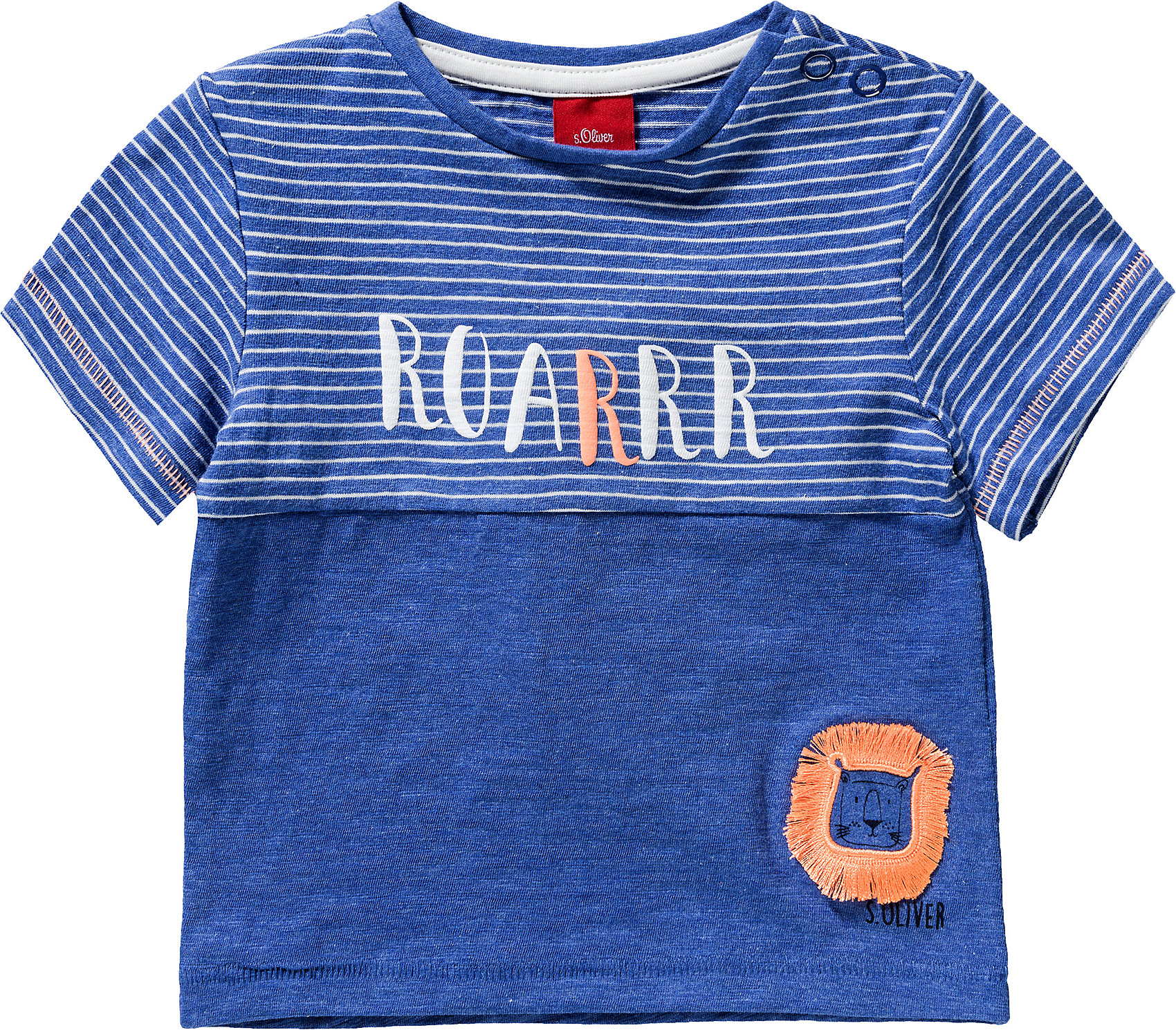 Neu s.Oliver Baby T-Shirt für Jungen 10595671 für Jungen blau