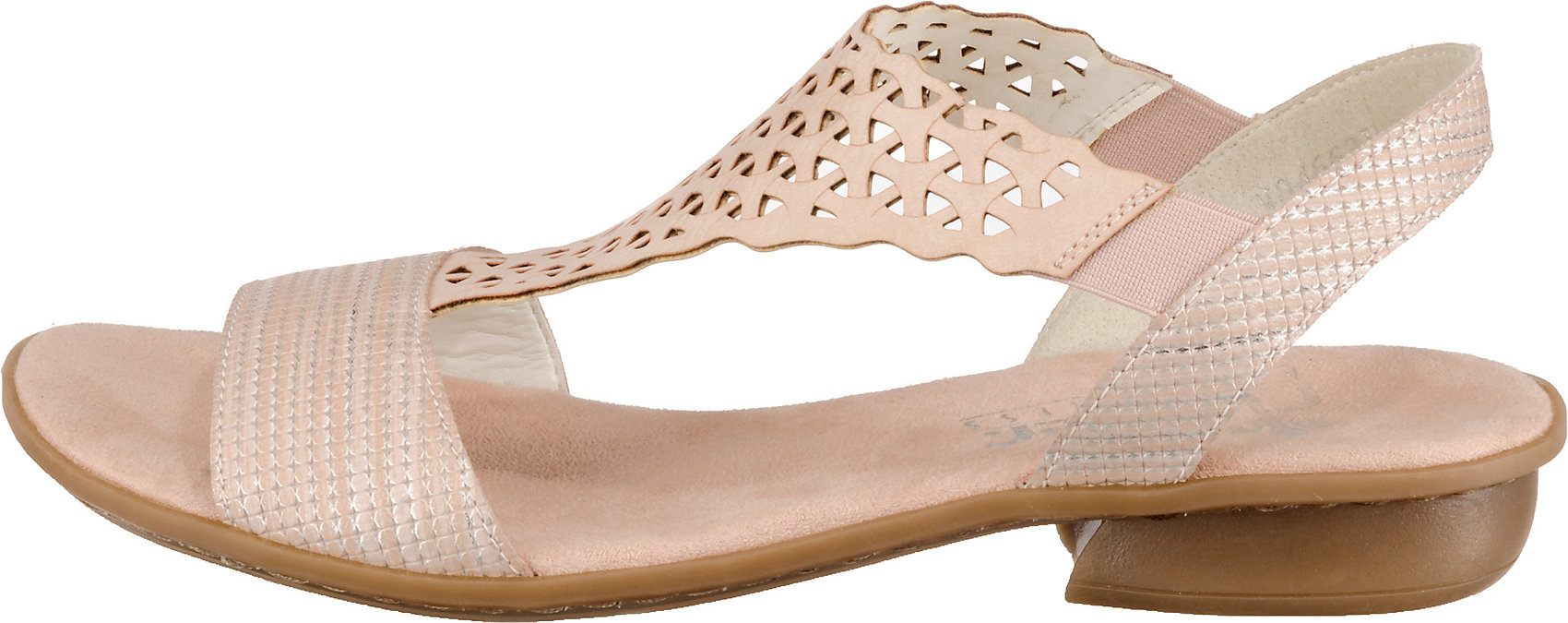 Neu rieker Klassische Sandalen 10626294 für Damen rosa