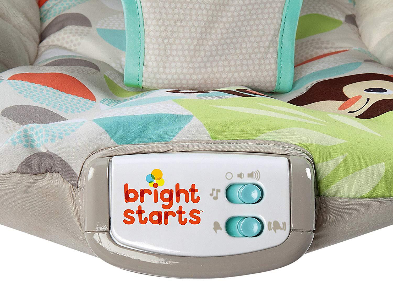 Neu Bright Starts Wippe Happy Safari 10647052 grau türkis