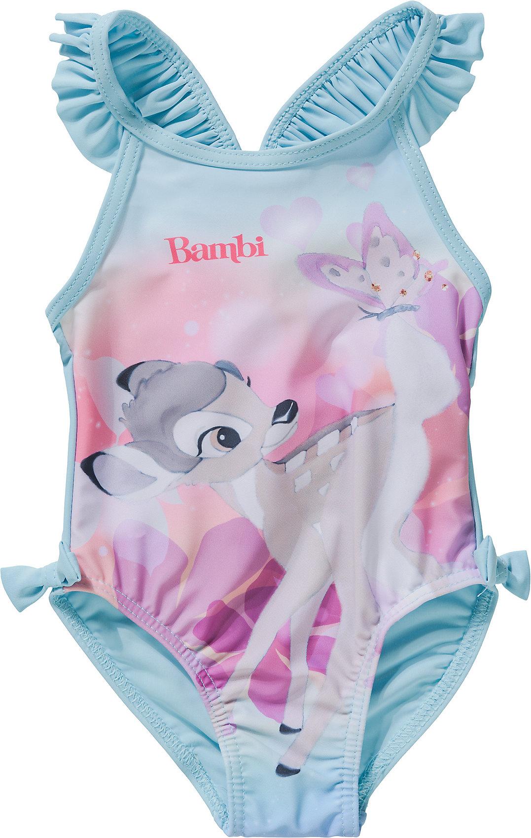 Neu Disney Bambi Baby Badeanzug 10718421 für Mädchen hellblau rosa