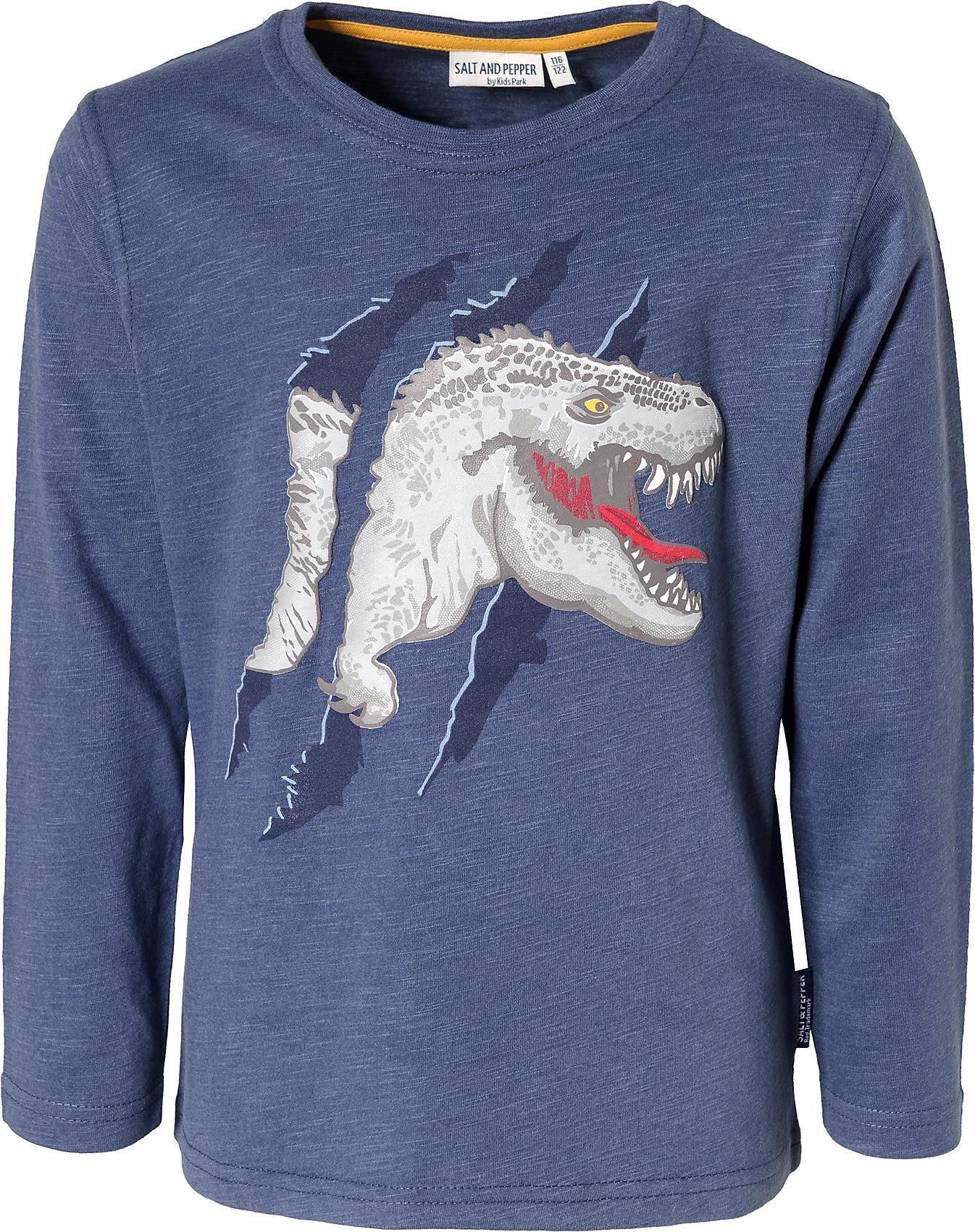 Neu Salt and Pepper Langarmshirt für Jungen Dinosaurier 11277156 für Jungen