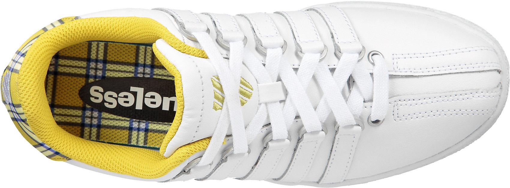 Neu K-SWISS CLASSIC VN CLUELESS Sneakers Low 11427479 weiß