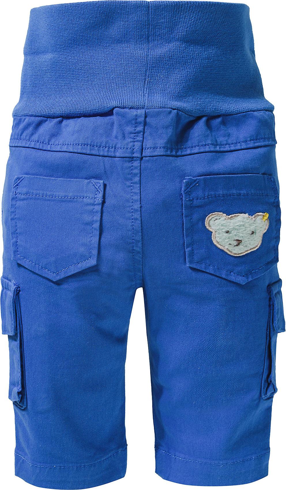 Neu Steiff Baby Softbundhose für Jungen 11440051 für Jungen blau//türkis