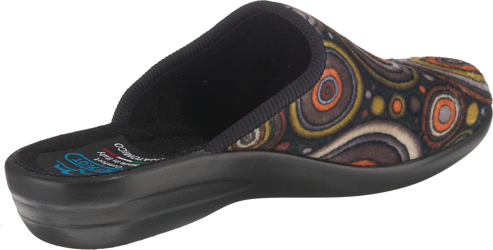 Neu FLY FLOT Pantoffeln 11994601 für Damen mehrfarbig