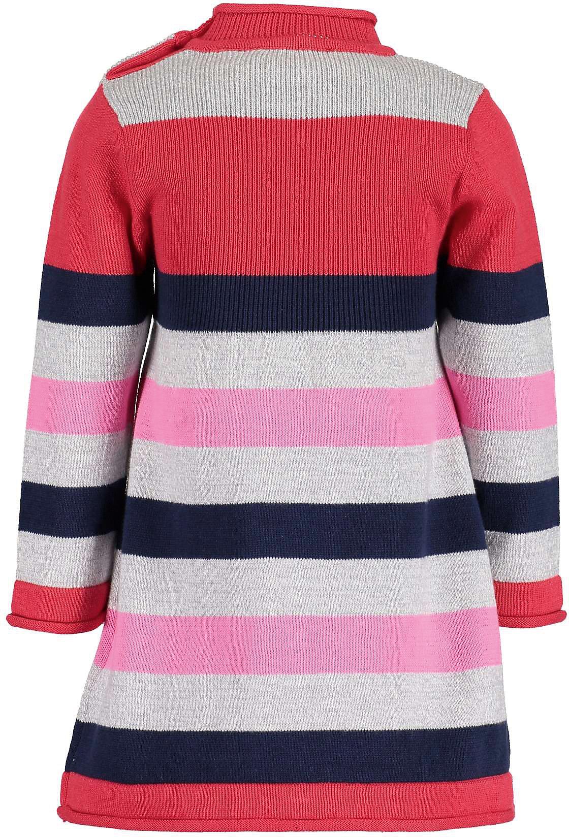 Neu BLUE SEVEN Baby Strickkleid 12168151 für Mädchen rot