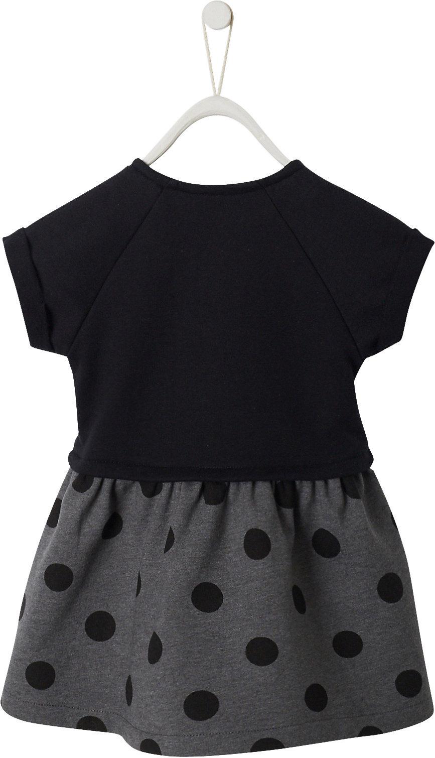 Neu vertbaudet Baby Kleid 12370152 für Mädchen schwarz