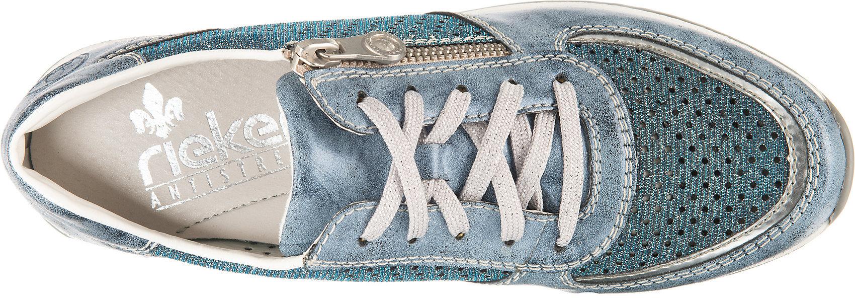 Neu rieker Sneakers Low 13411598 für Damen blau