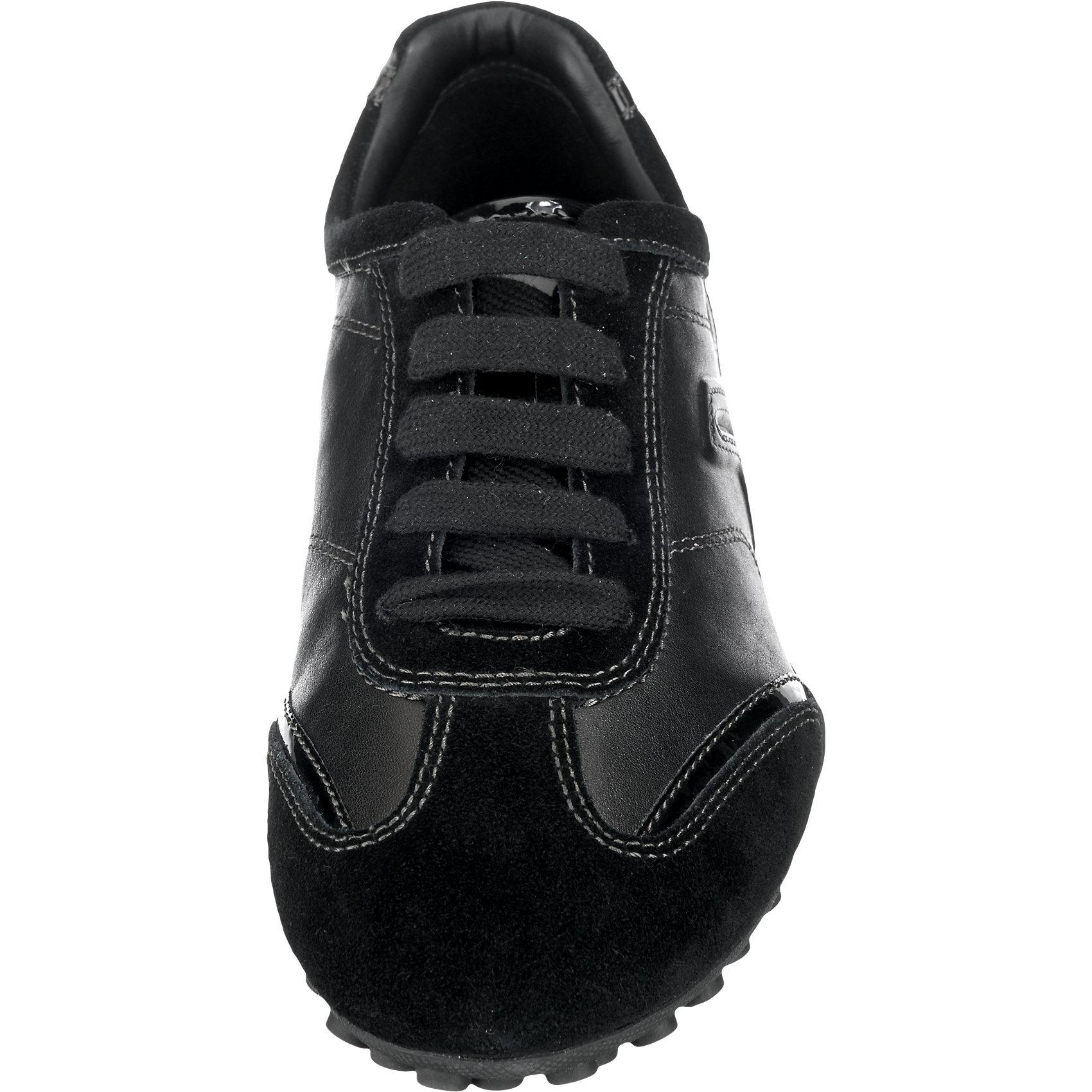 Neu Neu Neu GEOX Snake Sneakers schwarz 5734571 9b9567