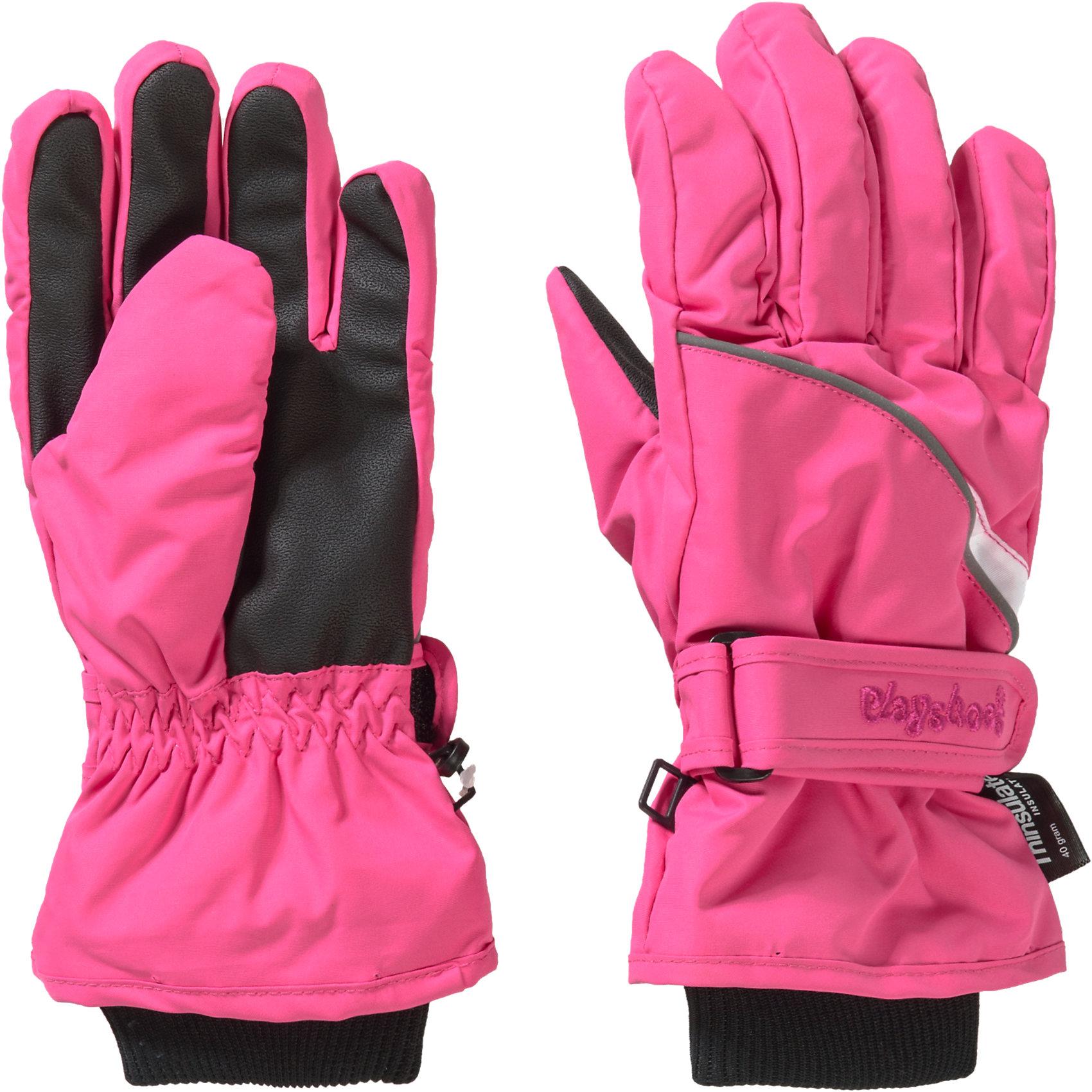 Ski- & Snowboard-Bekleidung Neu Playshoes Kinder Handschuhe 5981092 für Mädchen pink