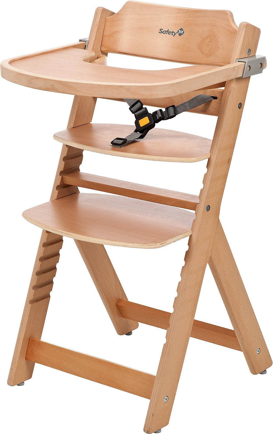natural wood 6068924 braun weiß grau Neu Safety 1st Hochstuhl Timba