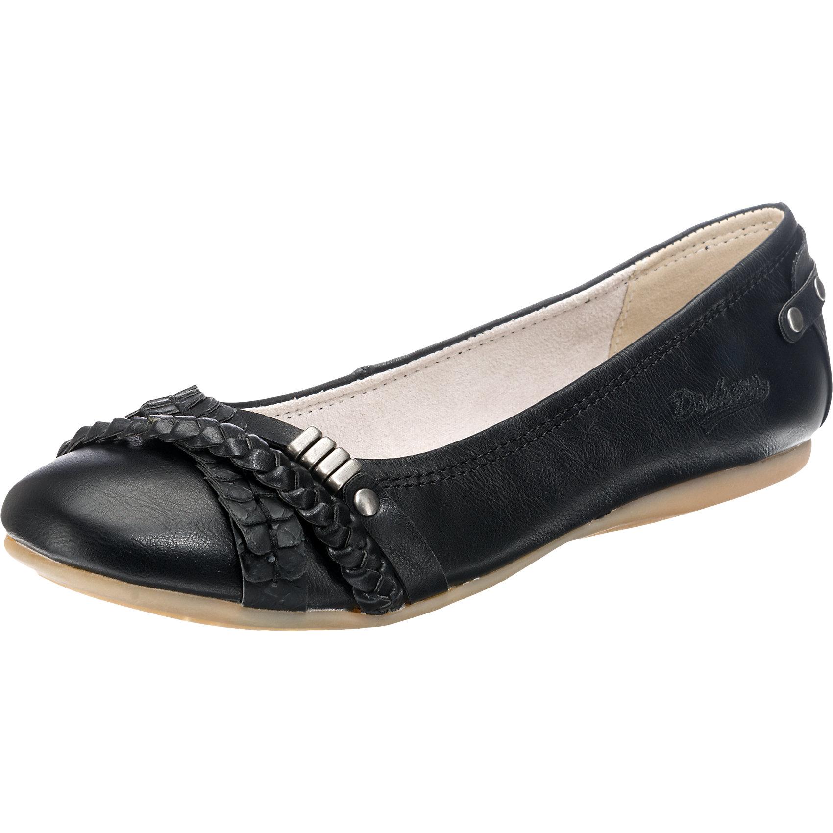 Details zu Neu Dockers by Gerli 34JE206 610100 Ballerinas schwarz 5747994