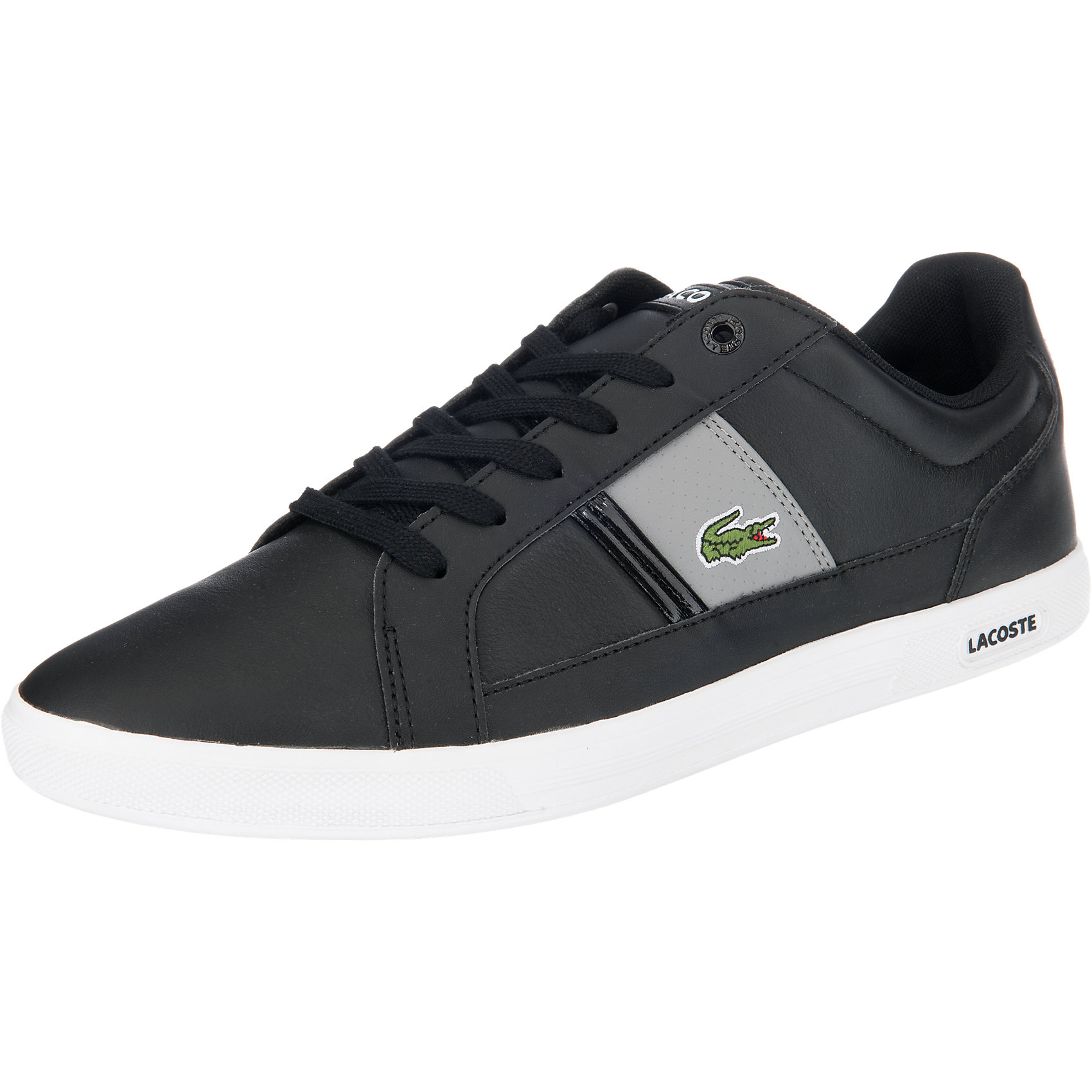Neu schwarz LACOSTE Europa lcr3 Sneakers schwarz Neu 5754979 e83699