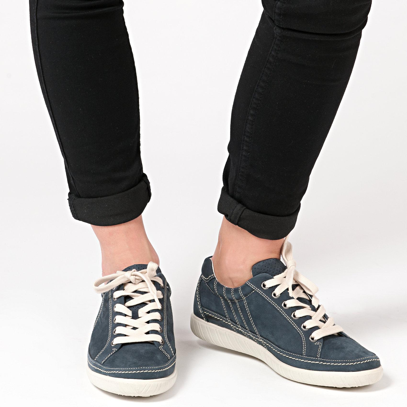 Neu Gabor 5751263 Sneakers blau grau schwarz 5751263 Gabor 5ac20d