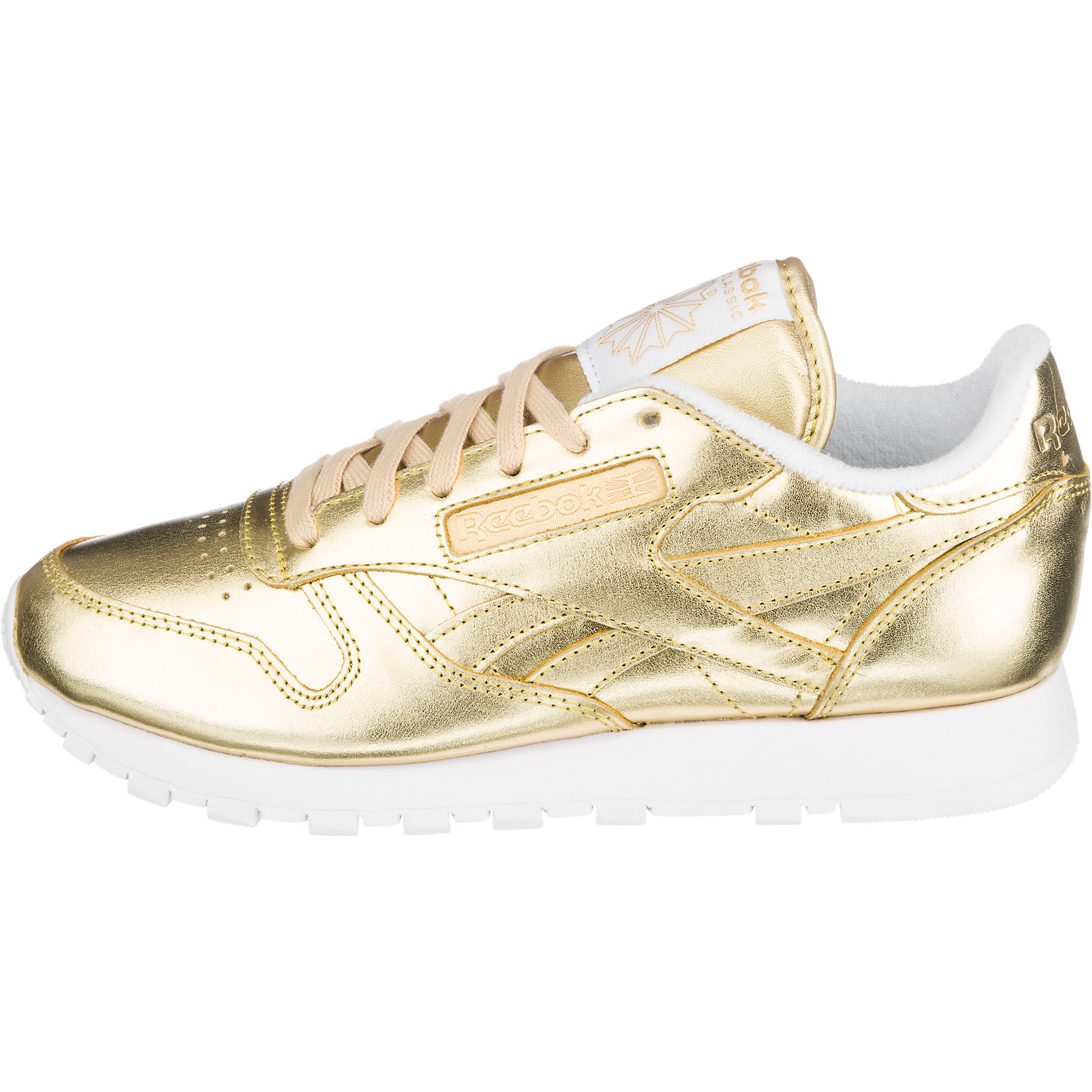Damen Sneaker Neu Reebok Classic Leather Spirit gold 5751783