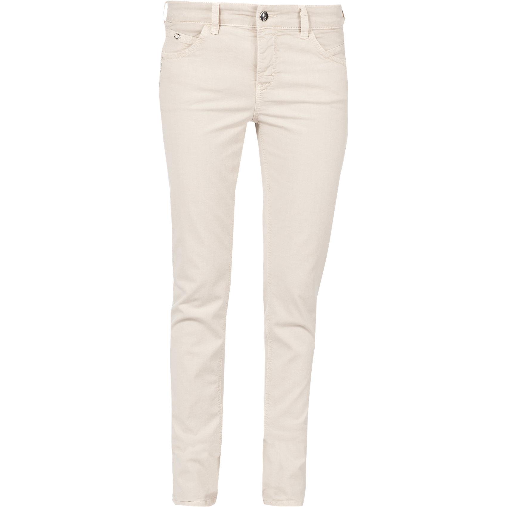 neu mac jeans angela pipe dynamic slim elfenbein 6026119. Black Bedroom Furniture Sets. Home Design Ideas