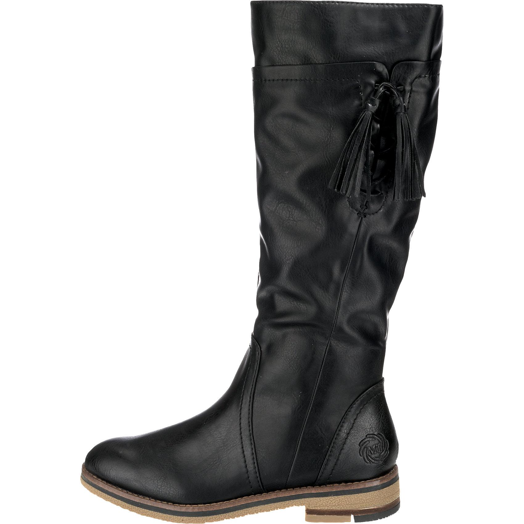 Neu-MARCO-TOZZI-Lera-Stiefel-braun-schwarz-5760290