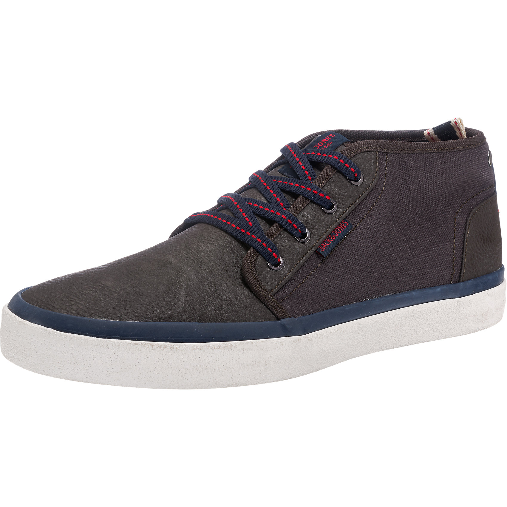 Neu JACK & JONES Major Sneakers dunkelbraun anthrazit 5761088