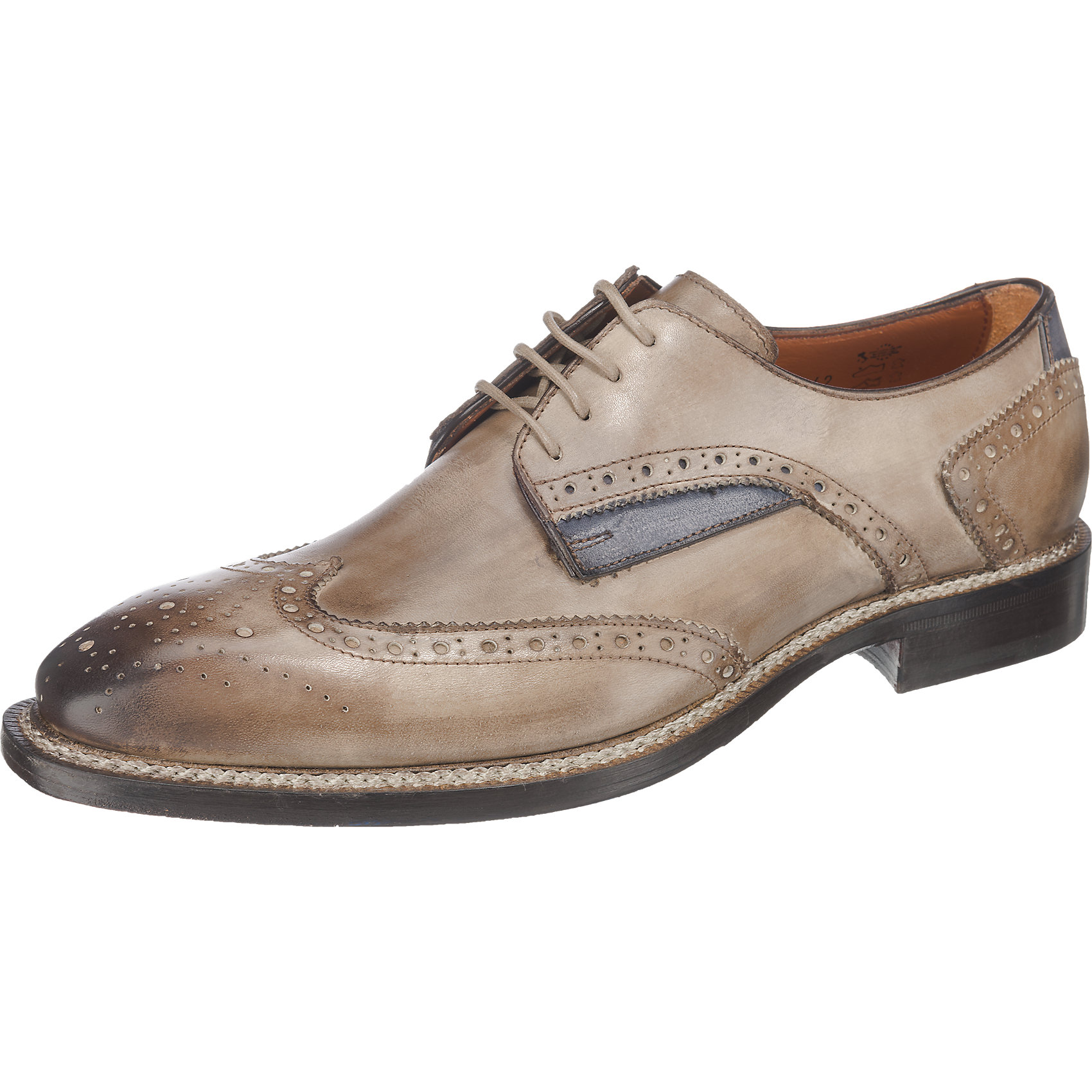 Details zu Neu Flecs Business Schuhe beige 5763722