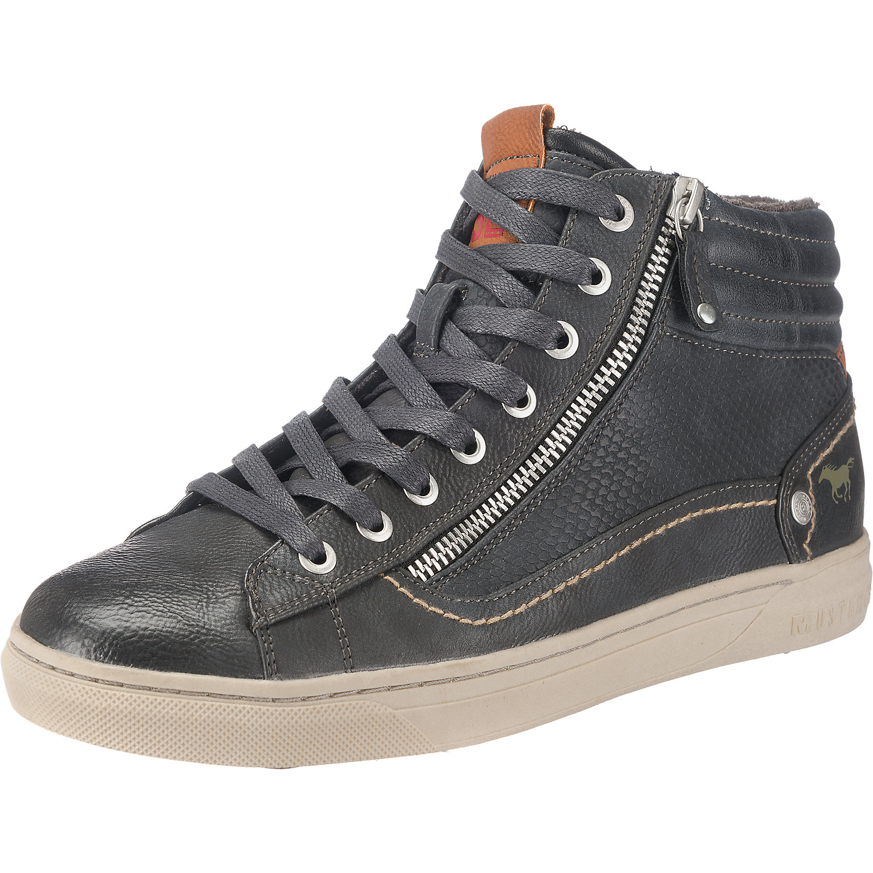 Billig Sneakers gute Qualität Neu MUSTANG Sneakers Billig schwarz 5763829 3ed357