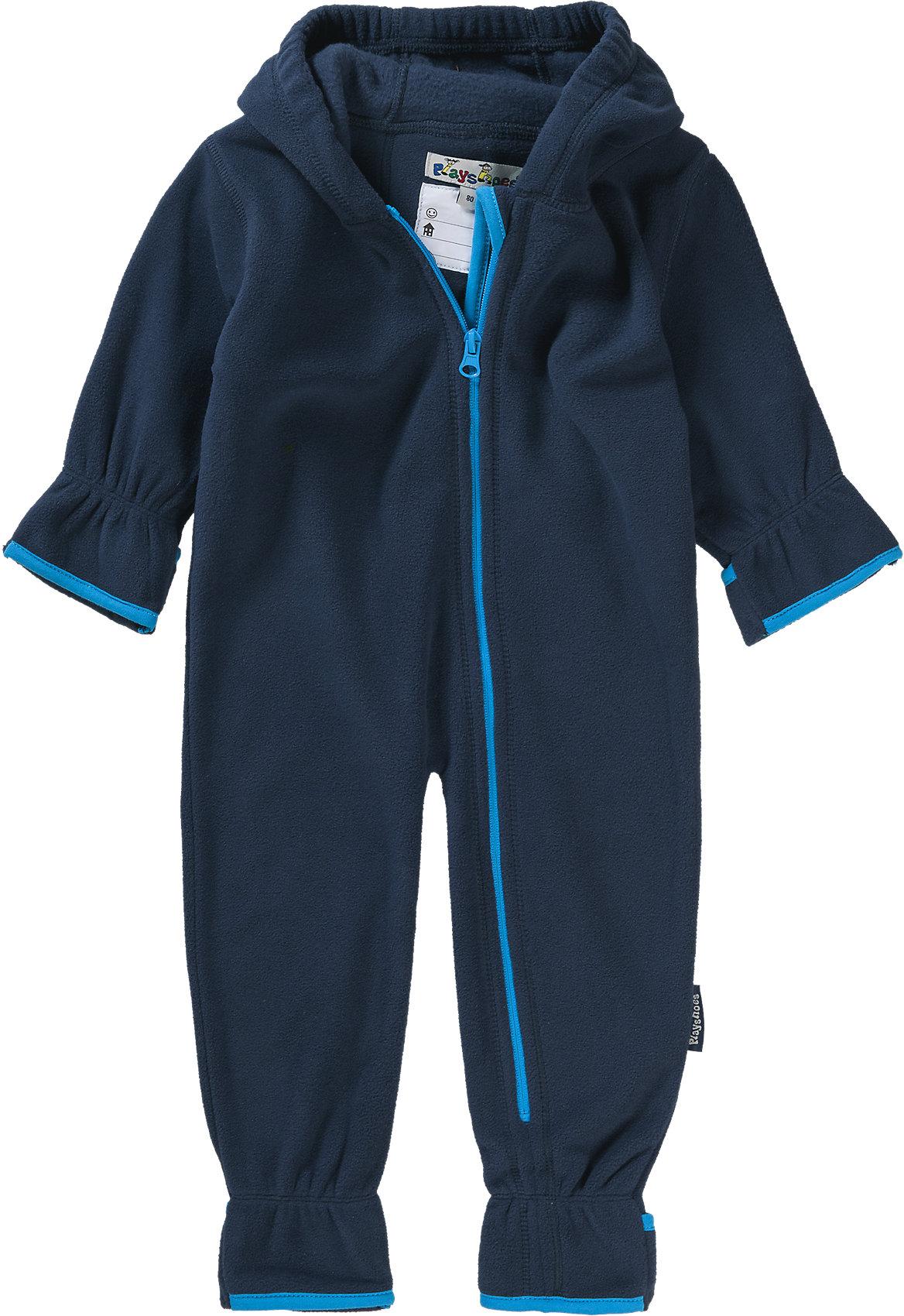 Neu Playshoes Baby Fleece-Overall 5807910 für Jungen grün
