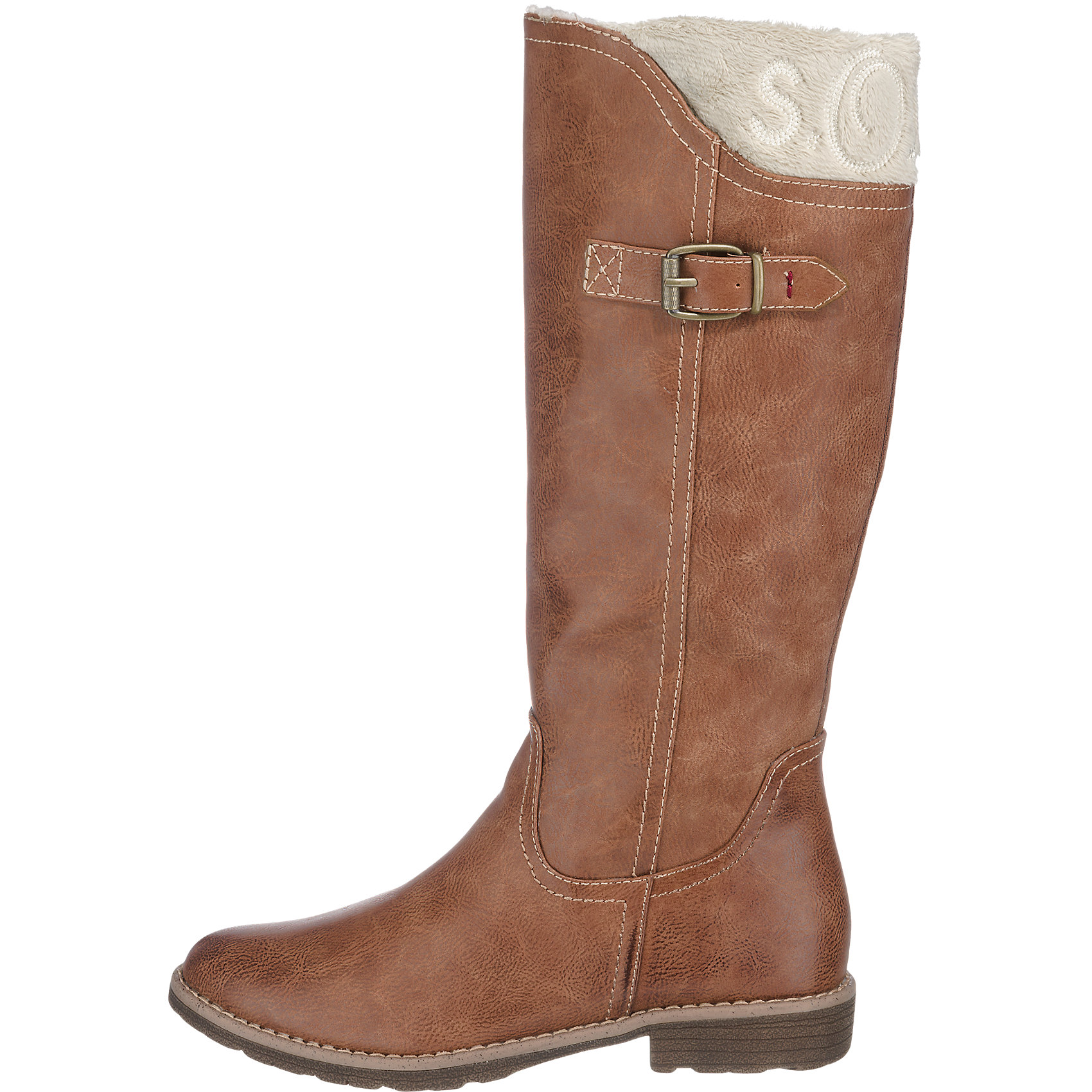s oliver boots braun