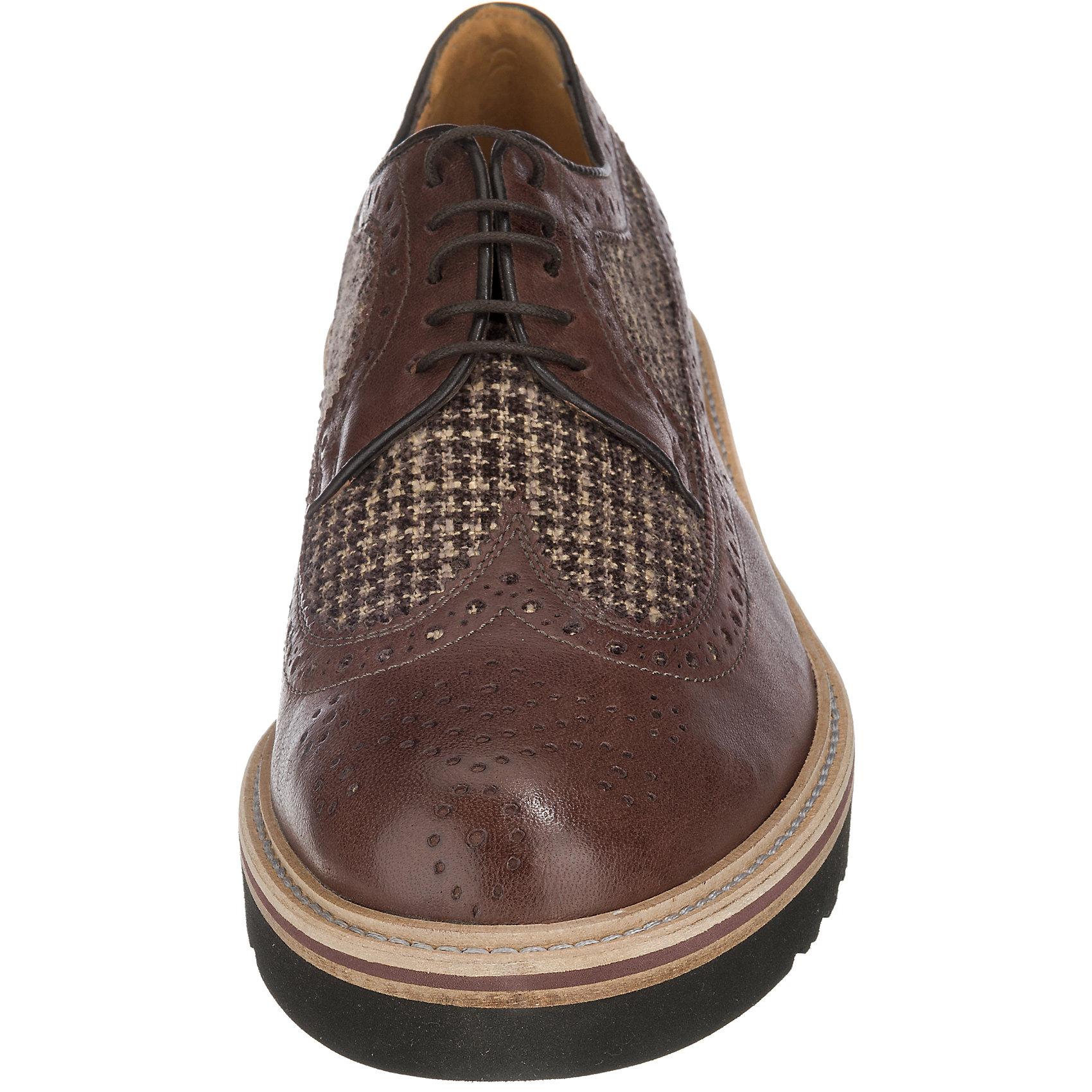 Neu ANTICA CUOIERIA Freizeit Schuhe braun 5765513