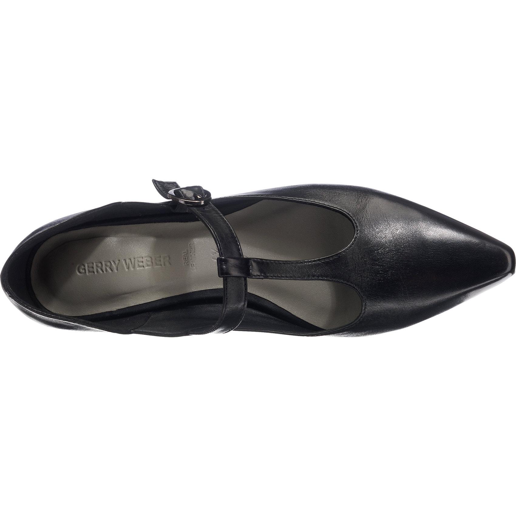 buy popular ec663 fe24b Details zu Neu Gerry Weber Nora Ballerinas schwarz 5766115