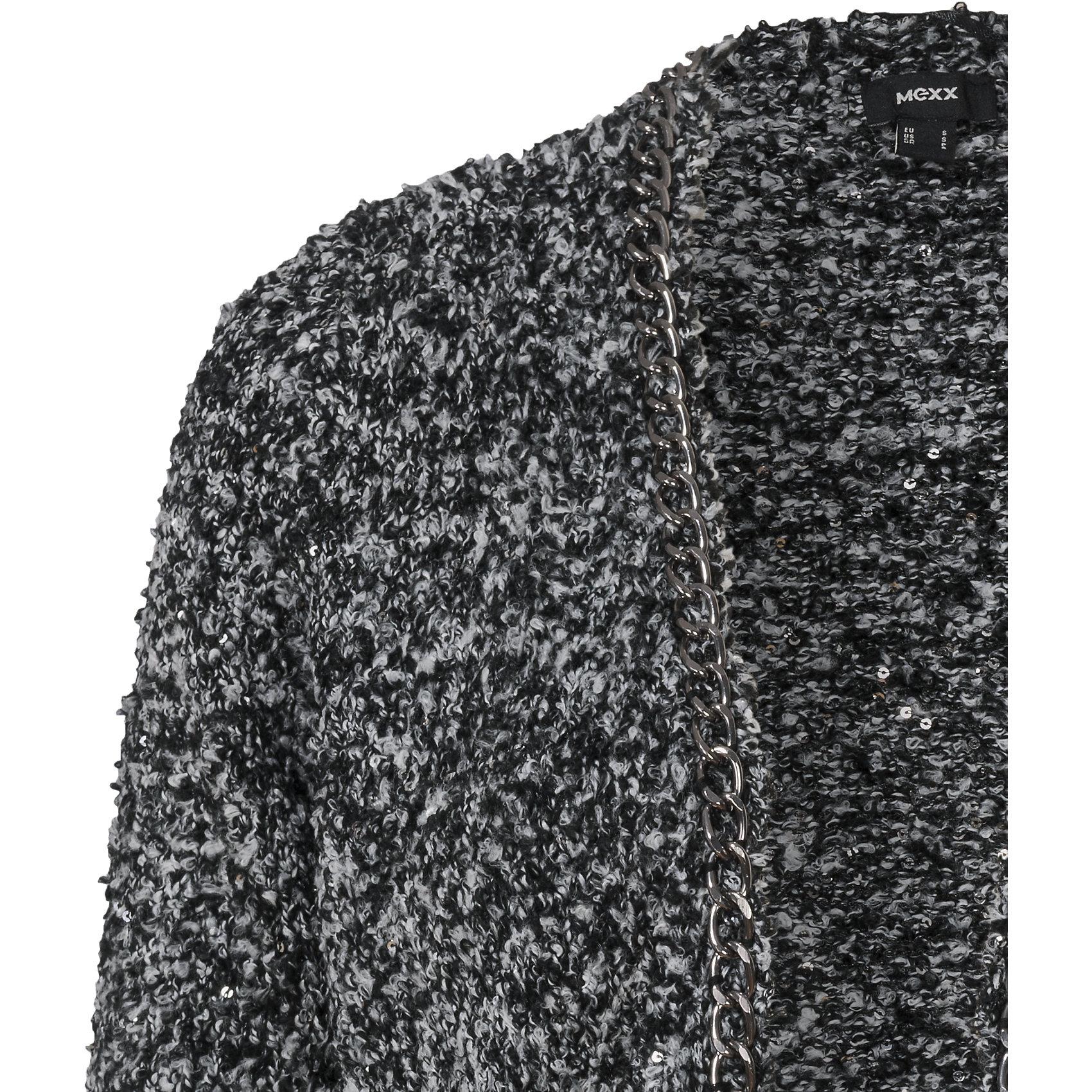 00c7eec1ad Neu-Mexx-Strickjacke-5634370-fuer-Damen-anthrazit Indexbild 7