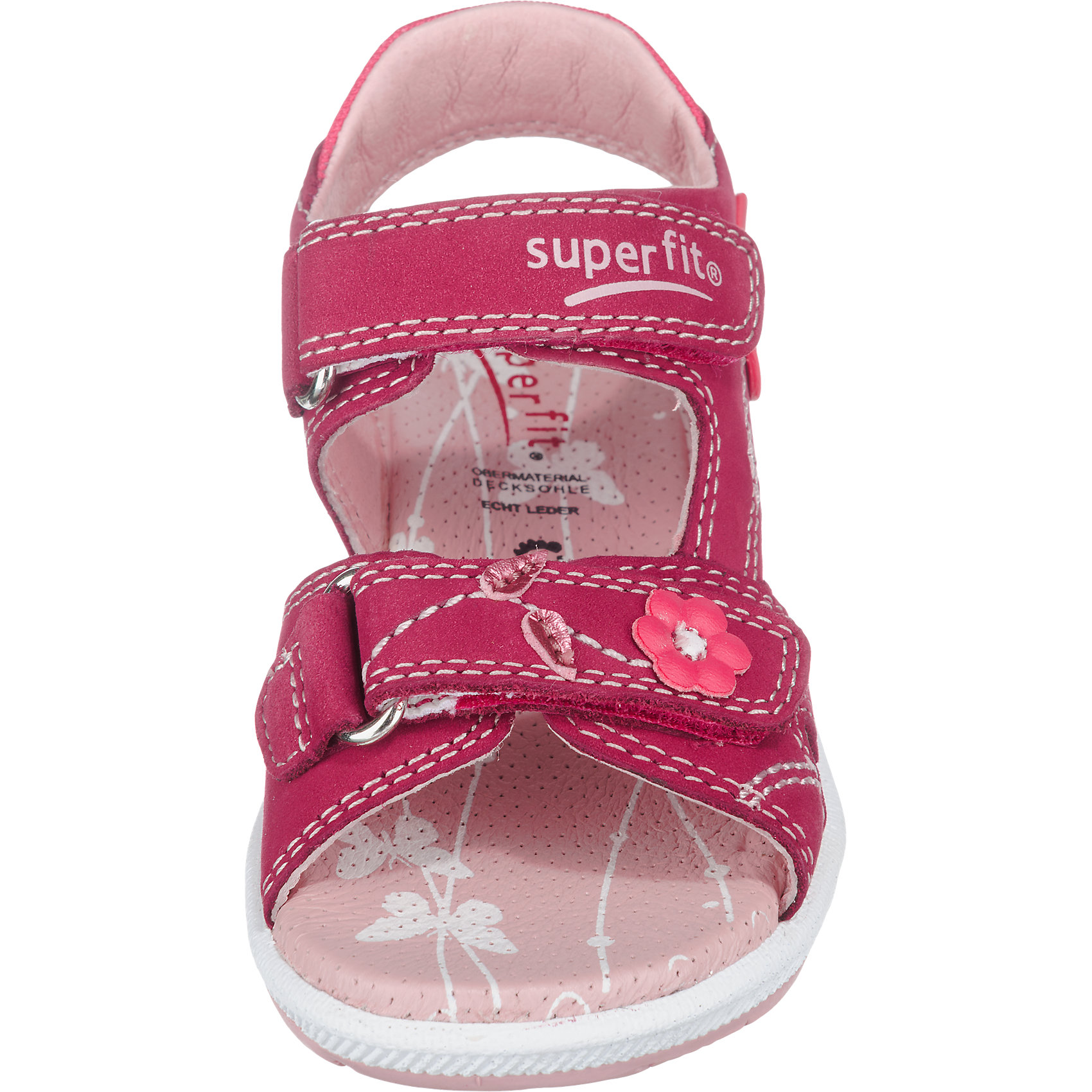 Neu superfit Kinder Sandalen, WMS-Weite M4 pink blau 6870789
