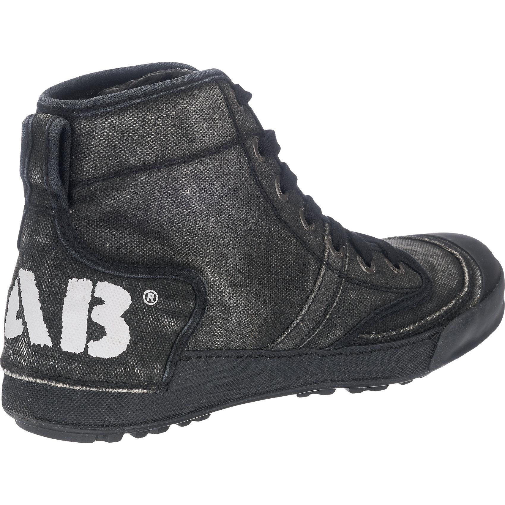 Neu YELLOW CAB Ground Sneakers schwarz dunkelgrün 5768496