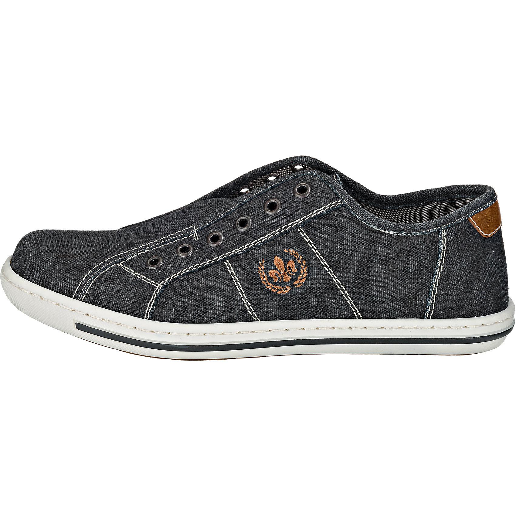 Neu rieker Sneakers grau-kombi 5768756