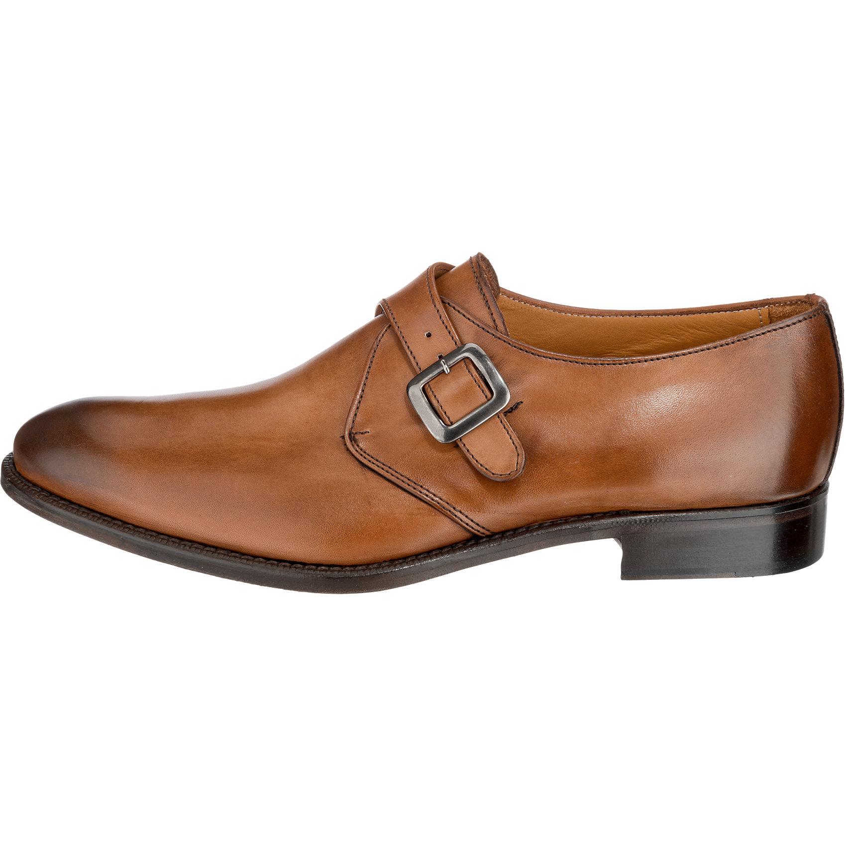 Neu ANTICA ANTICA ANTICA CUOIERIA Business Schuhe cognac 5770163 53e565