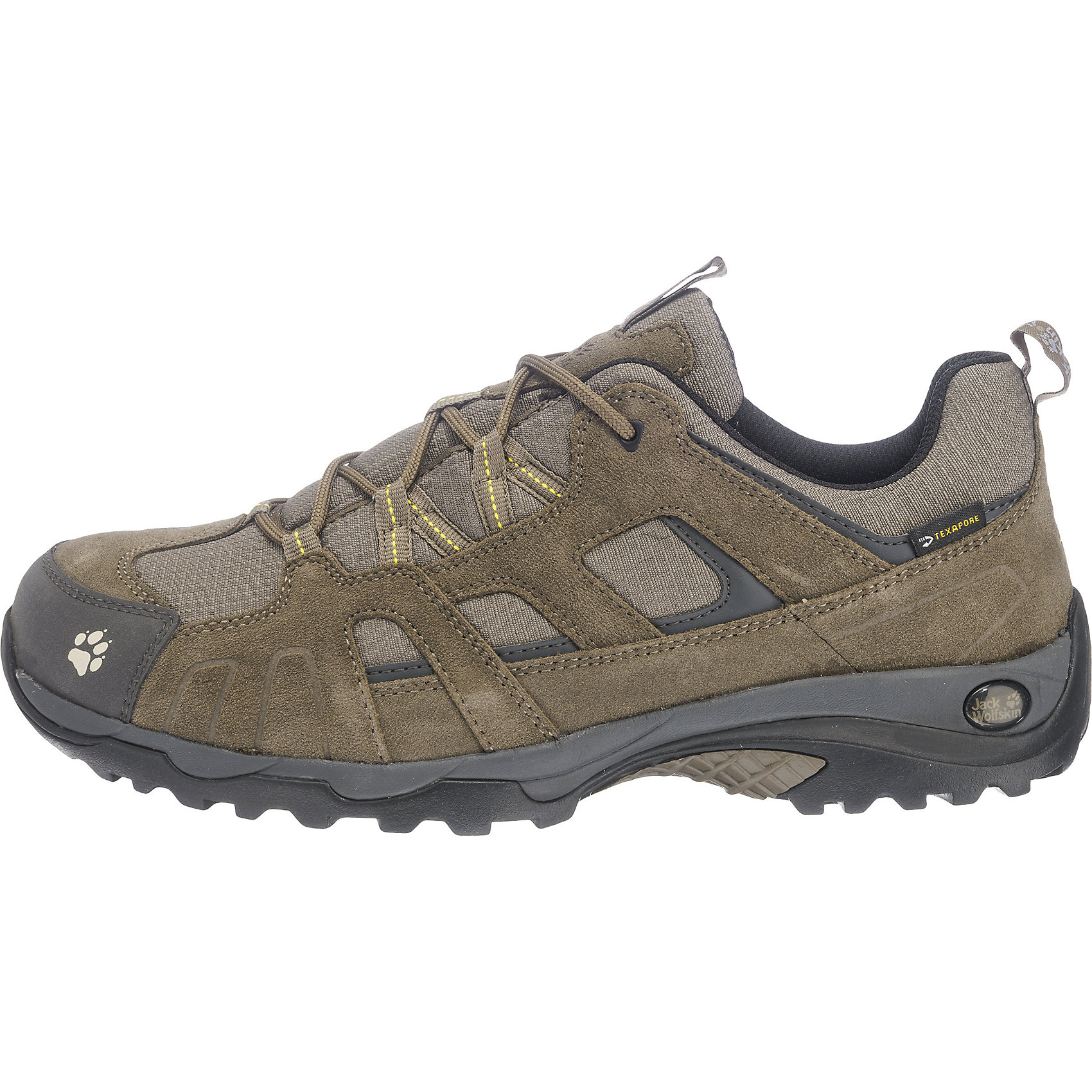Details zu Neu JACK WOLFSKIN Vojo Hike Texapore Freizeit Schuhe schwarz kombi khaki 5742109