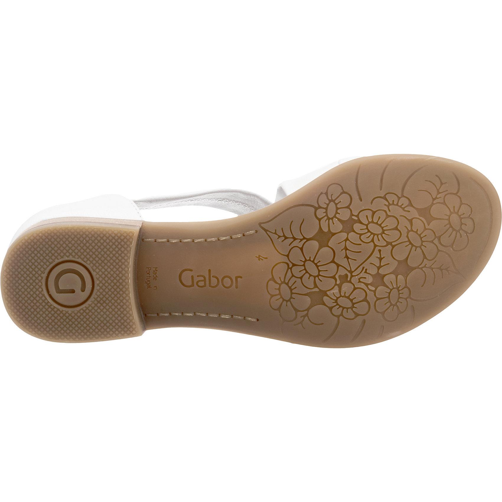Neu weiß Gabor Sandaletten schwarz weiß Neu braun 5770412 f8b827