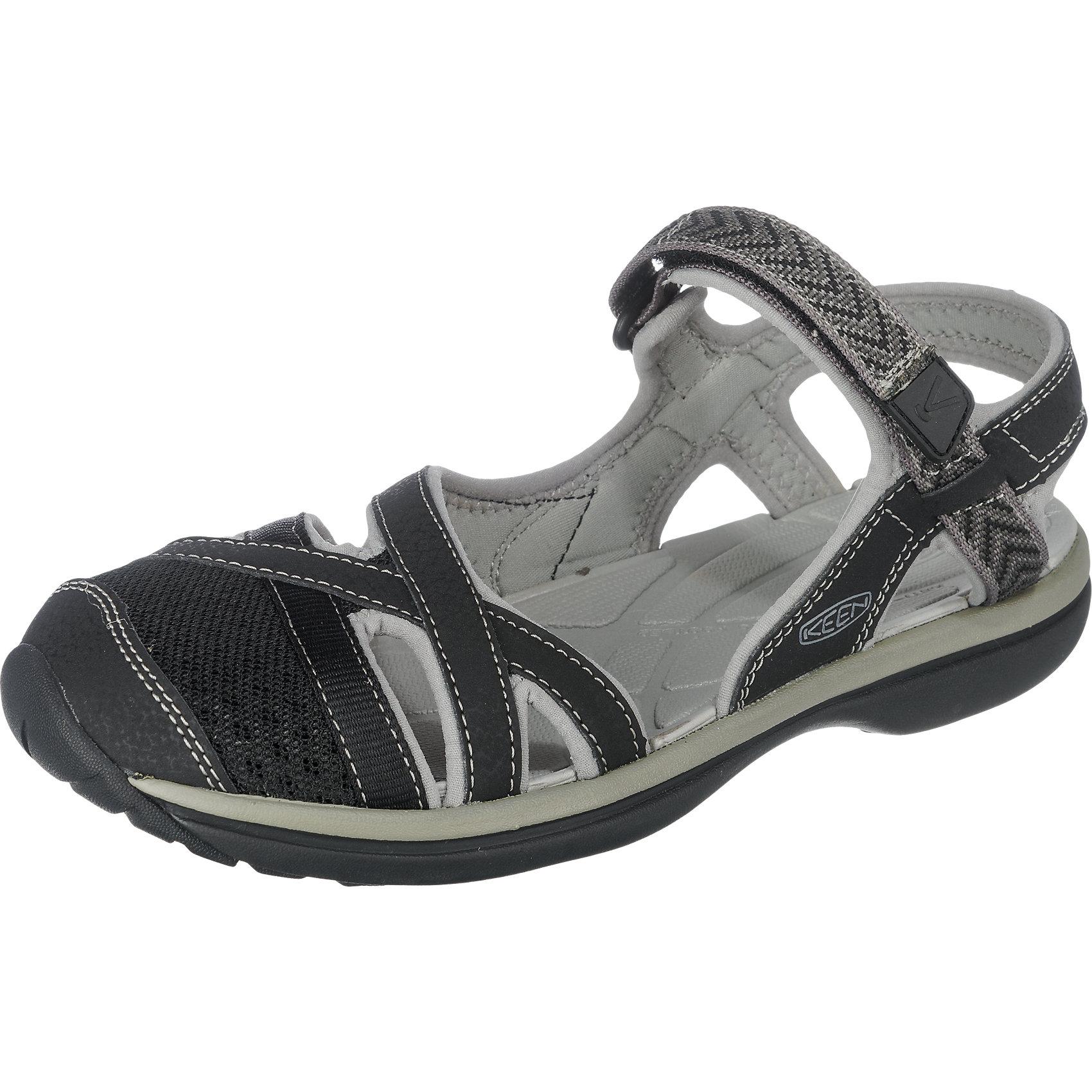 competitive price b7c5b 3b9e1 Details zu Neu KEEN Sage Ankle Outdoor Sandalen 5770474 für Damen schwarz