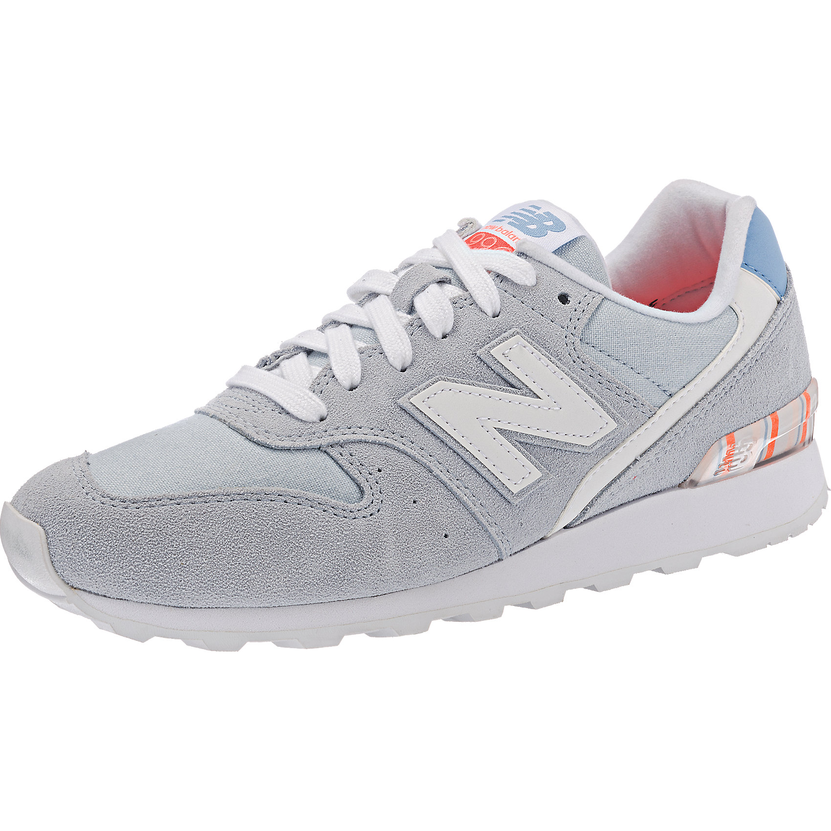 Details zu Neu new balance WR996 D Sneakers rosa beige kombi blau 5770630