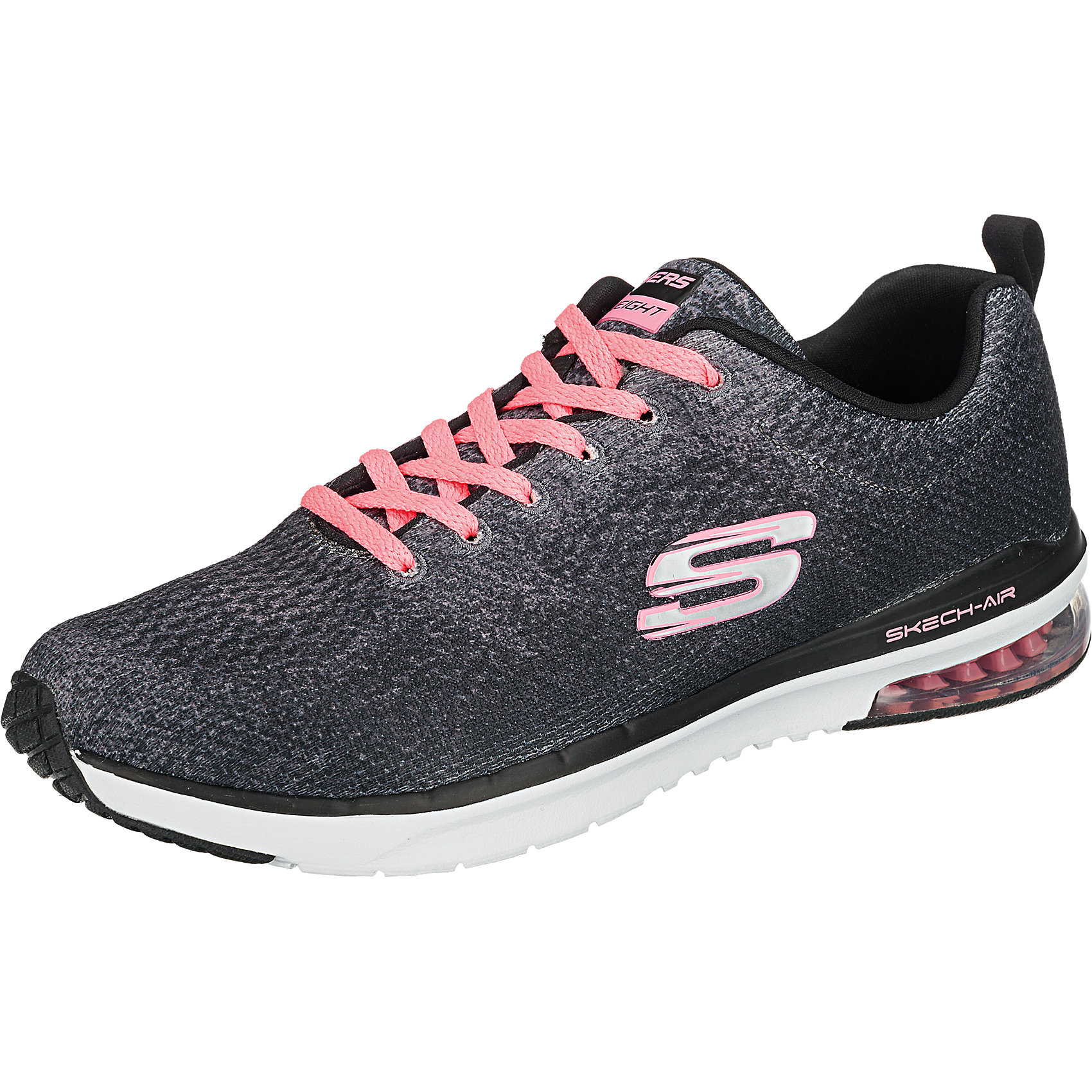 Details zu Neu SKECHERS Skech Air Infinity Modern Chic Sneakers schwarz 5772288