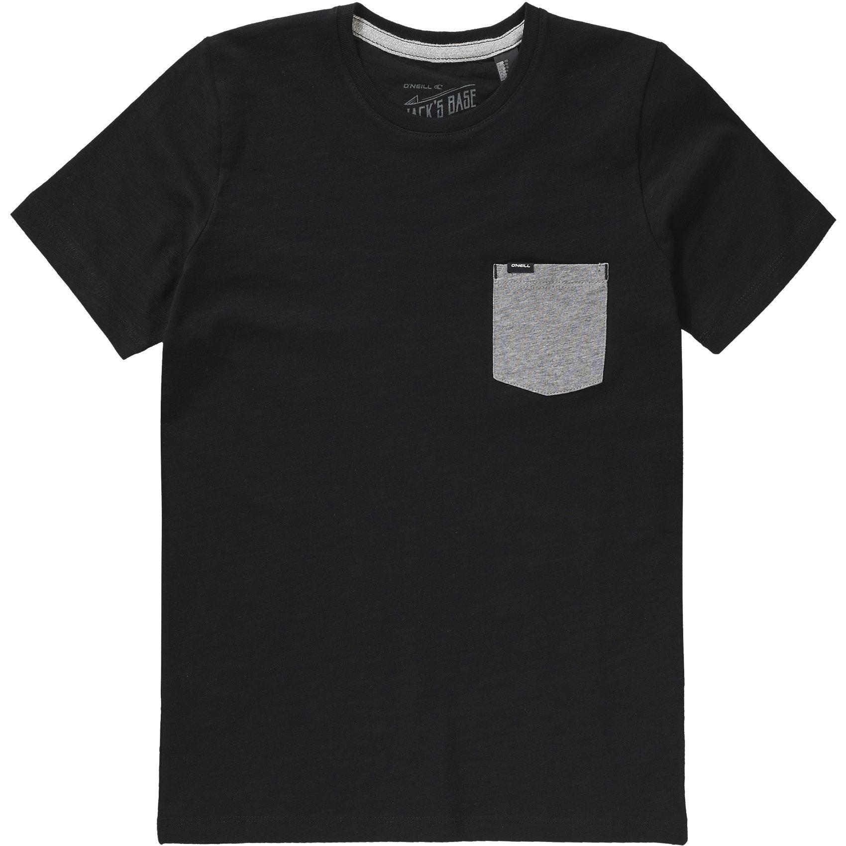 Neu-O-039-NEILL-T-Shirt-JACKS-BASE-fuer-Jungen-Organic-Cotton-schwarz-6054140