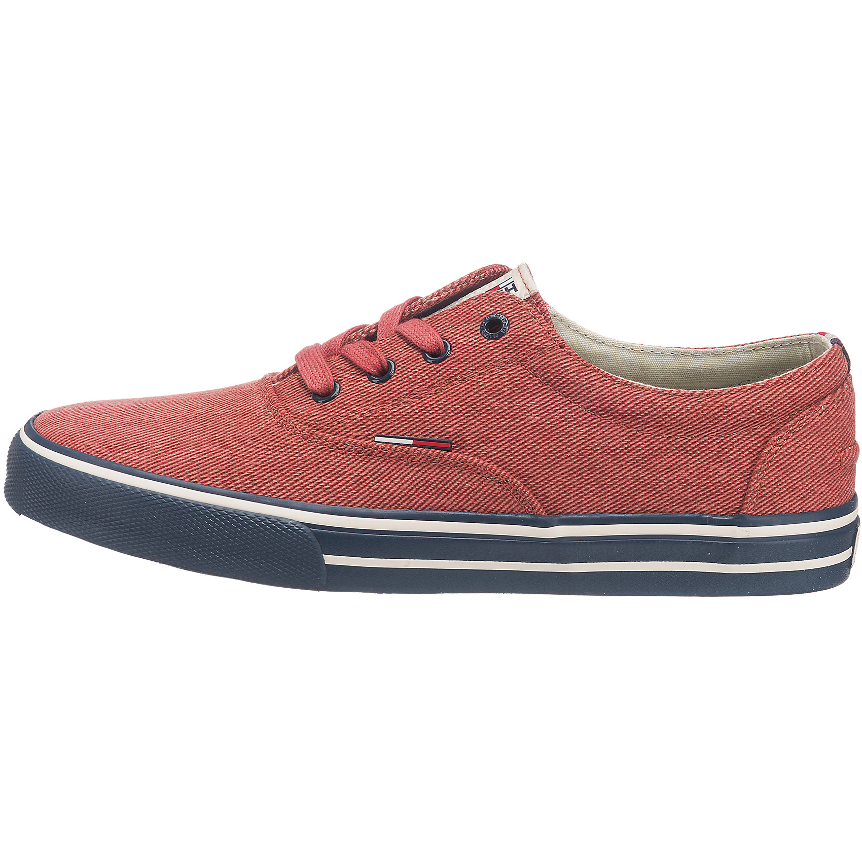 Neu HILFIGER DENIM 5772510 Vic Sneakers weiß rot 5772510 DENIM c4d279