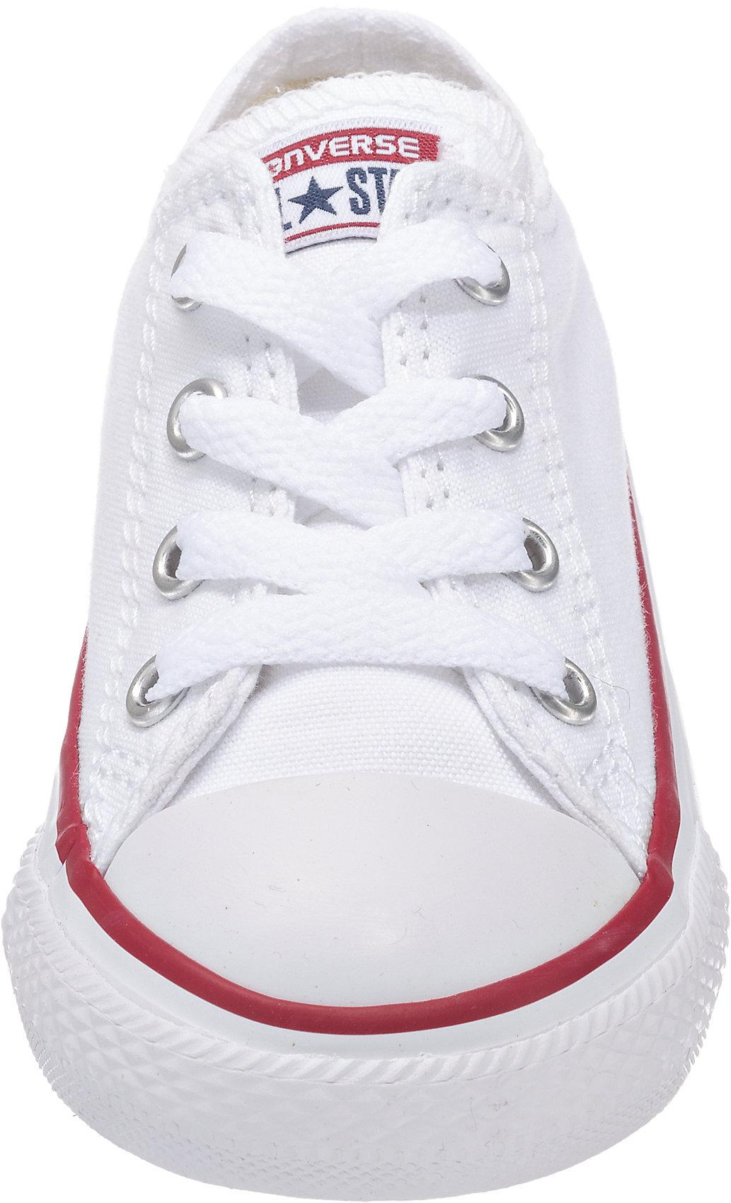 Neu CONVERSE Baby Sneakers Low OX OPTICAL 6054473 für Jungen und Mädchen