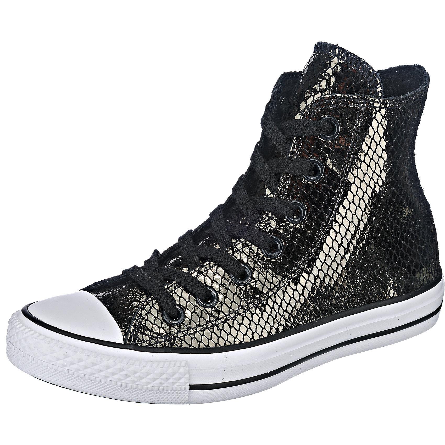 Neu CONVERSE schwarz Chuck Taylor All Star Hi Sneakers schwarz CONVERSE 5772583 c1a7b1