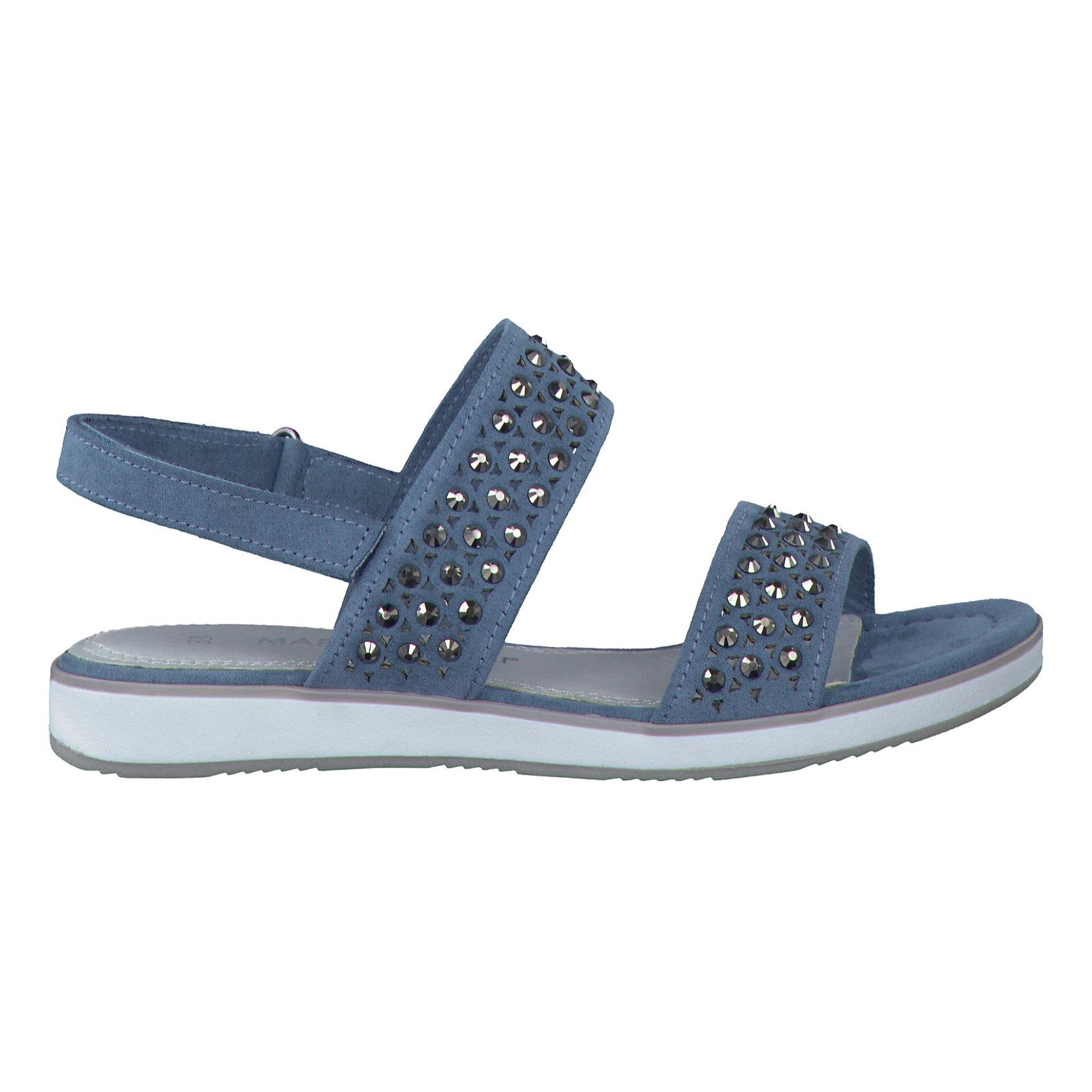 Details zu Neu MARCO TOZZI Sandalen für Mädchen 5585509 für Mädchen blau
