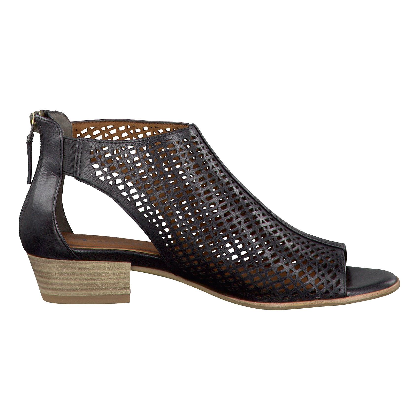 Details zu Neu Tamaris Nao Sandaletten schwarz grau braun 5773033